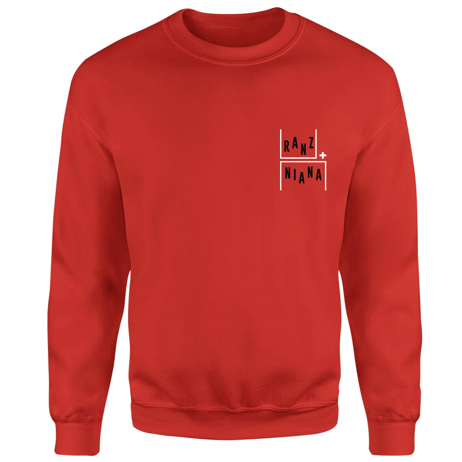Ranz + Niana Gravity Movement Pocket Sweatshirt - Red