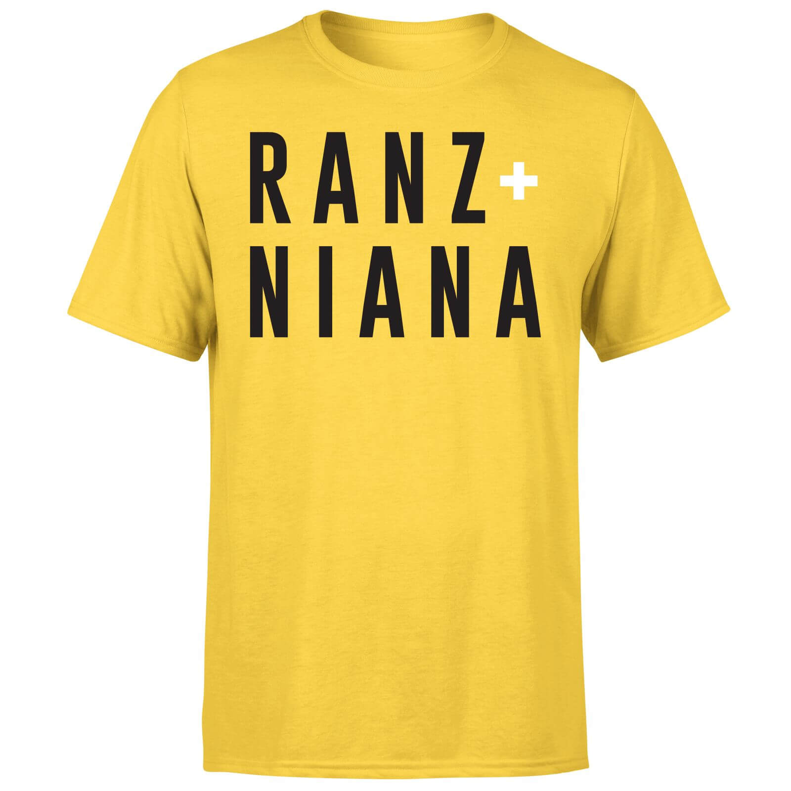 Ranz + Niana T-Shirt - Yellow