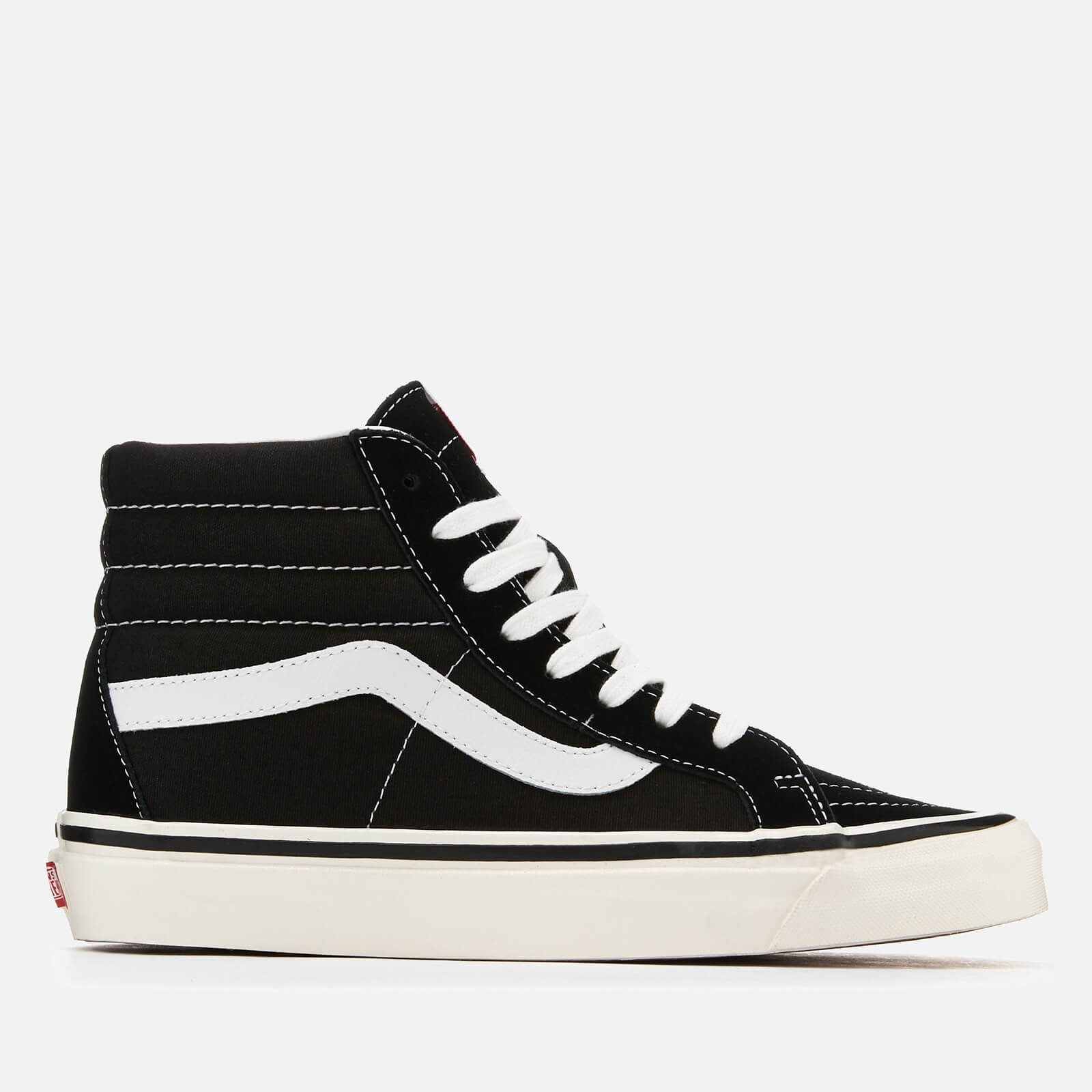 38b188f3f3fb19 Vans Anaheim Sk8-Hi 38 Dx Trainers - Black True White - Free UK ...