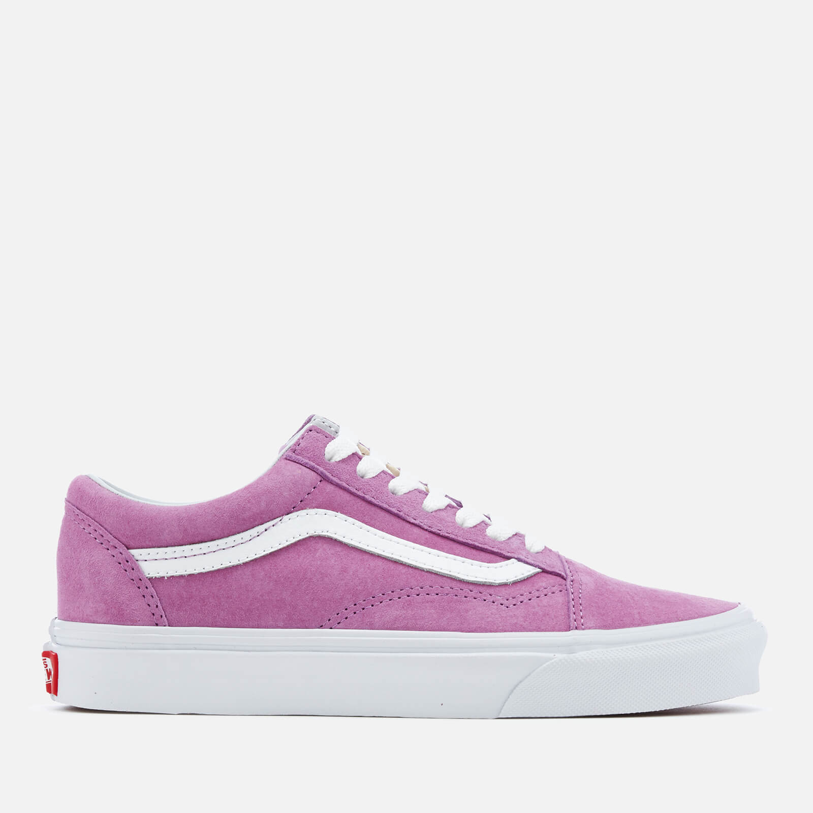 5a538ca98f Vans Women s Old Skool Suede Trainers - Purple True White - Free UK ...