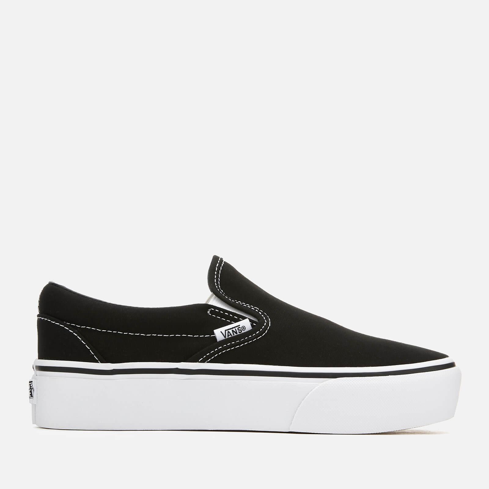 d70594da4689a Vans Women's Classic Platform Slip-On Trainers - Black