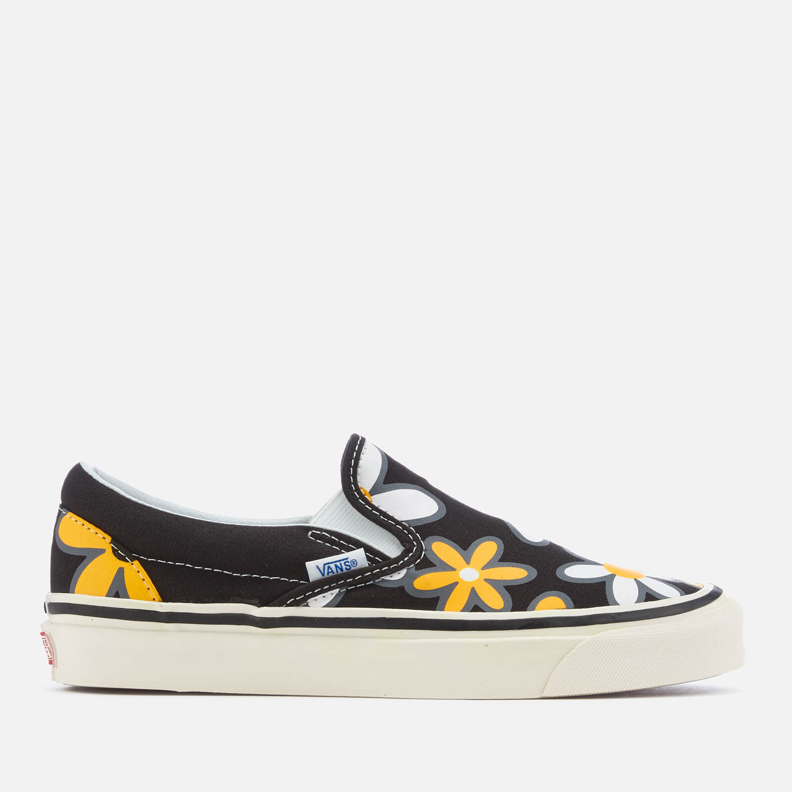 8f6f759ad931 Vans Women s Anaheim Classic 98 DX Slip-On Trainers - Black Flower Power -  Free UK Delivery over £50
