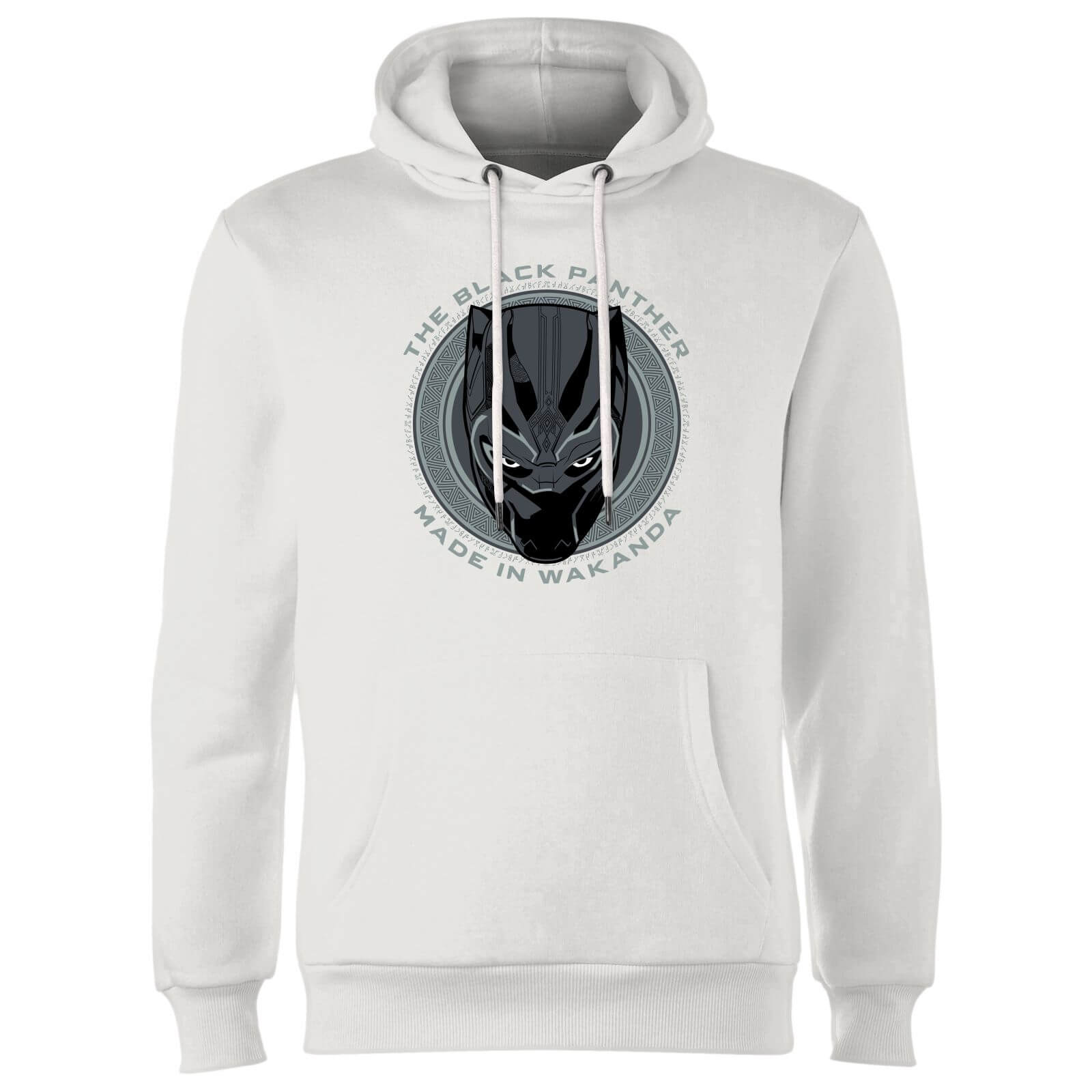 Black Panther Made In Wakanda Hoodie - White
