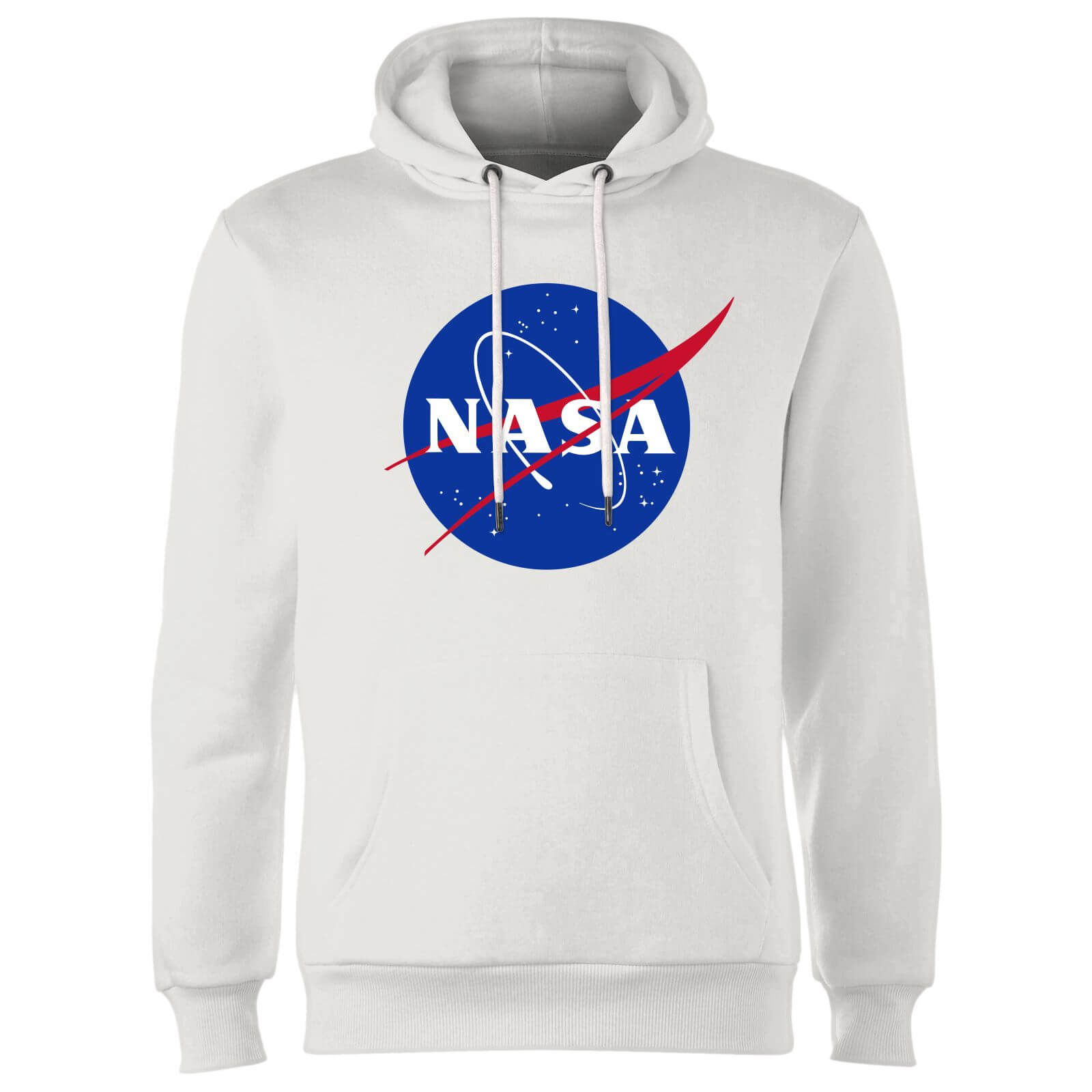 6cc64937719 NASA Logo Insignia Hoodie - Wit | Zavvi.nl