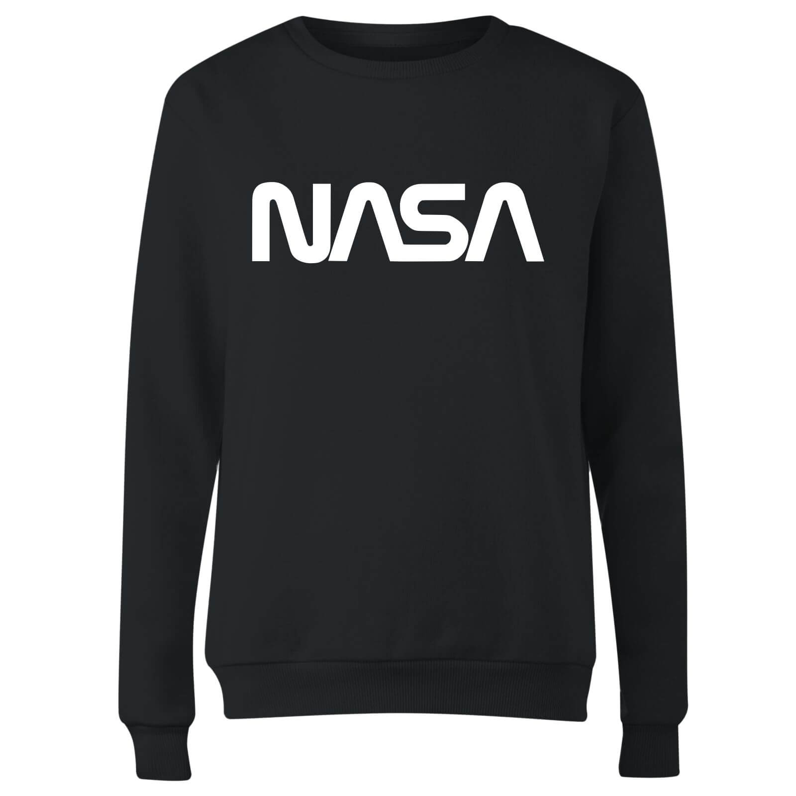 NASA Worm White Logotype Women