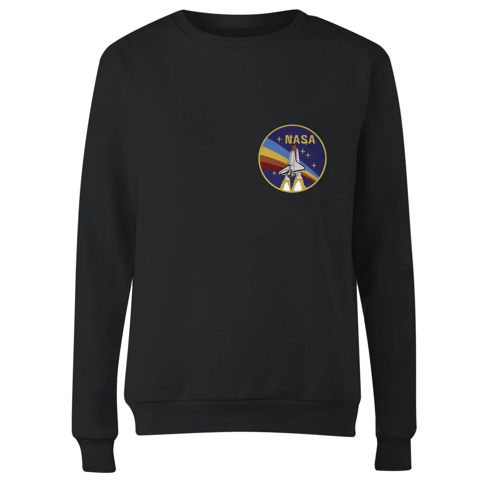 NASA Vintage Rainbow Shuttle Women