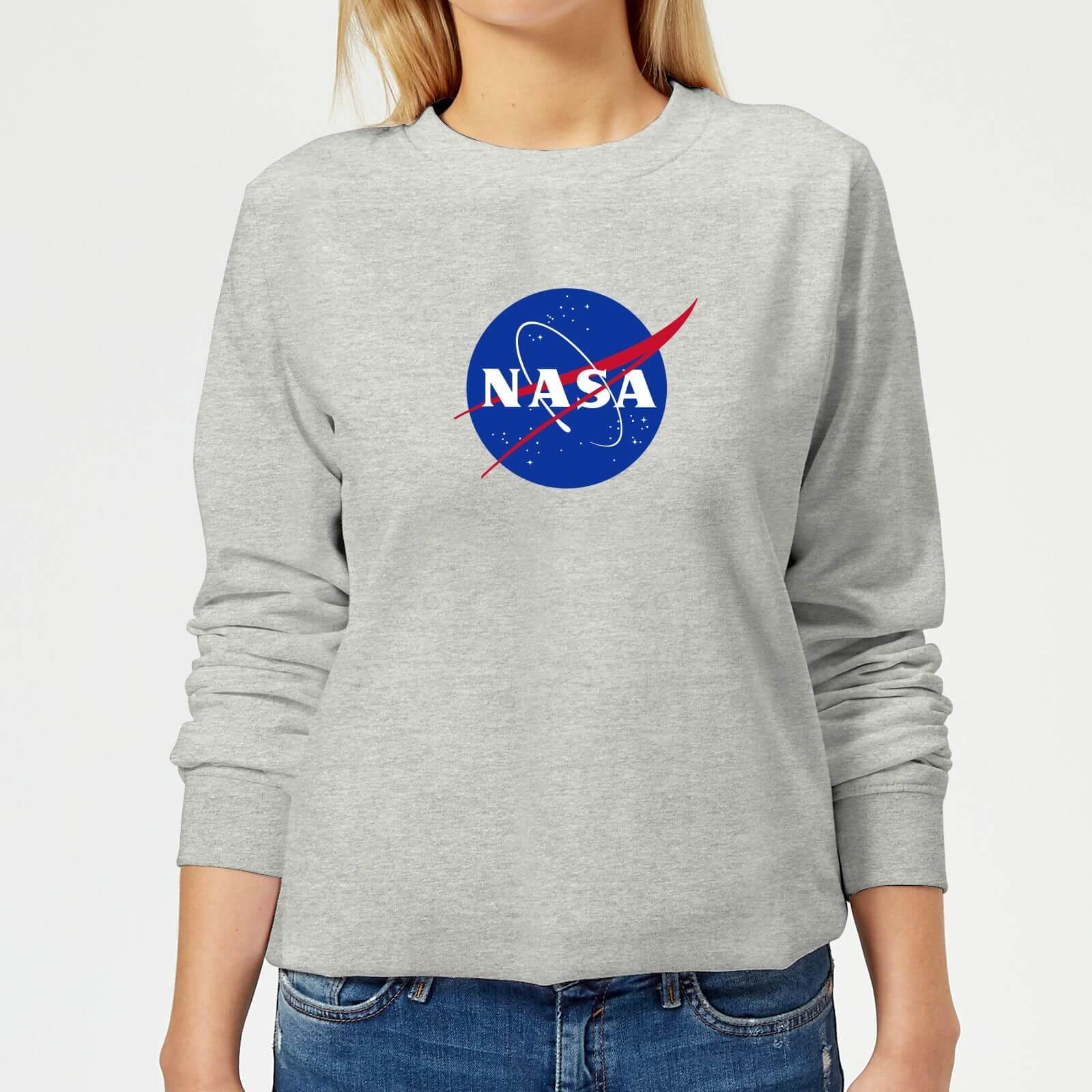 NASA Women/'s Classic Insignia Chest Logo Hoodie