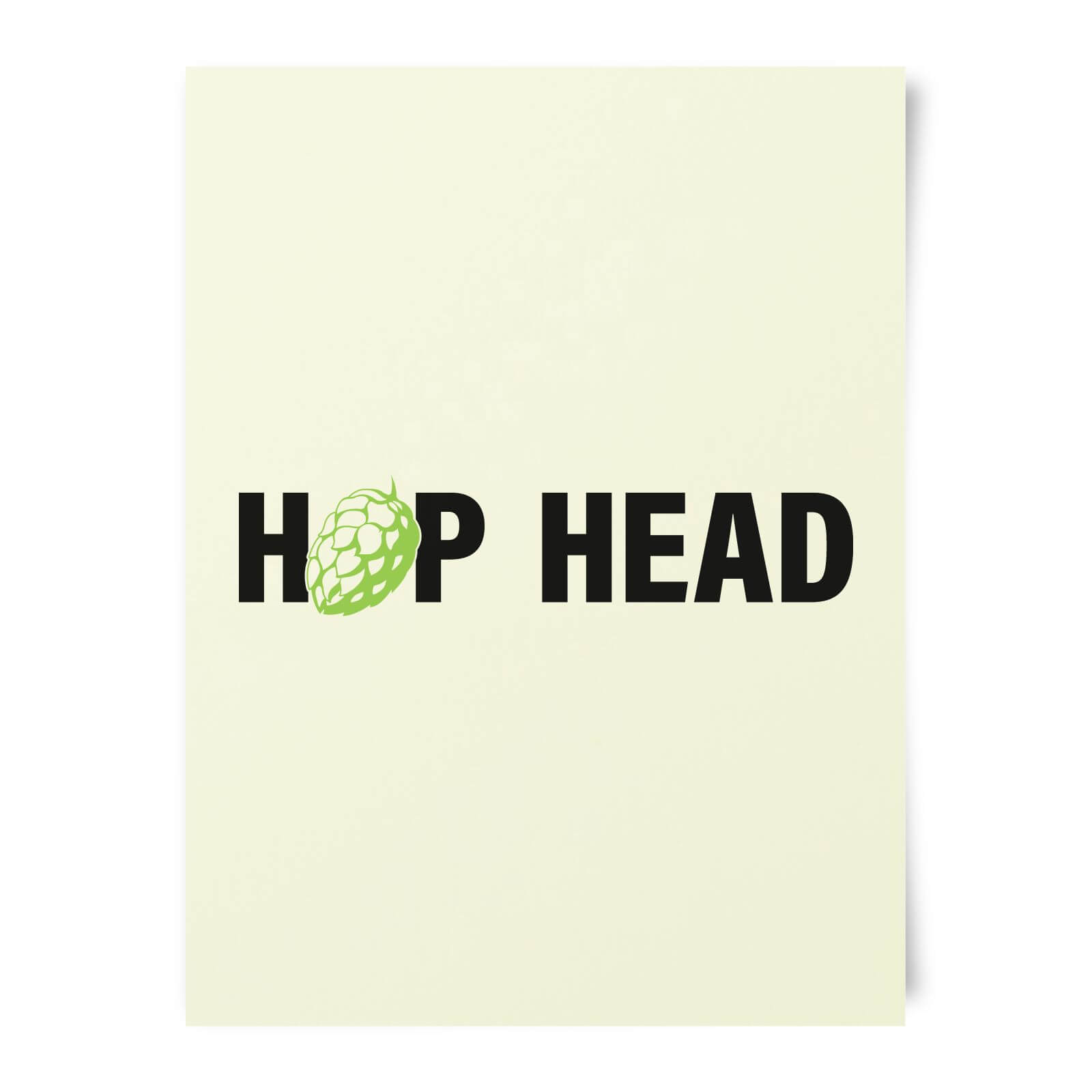 Beershield Hop Head Art Print