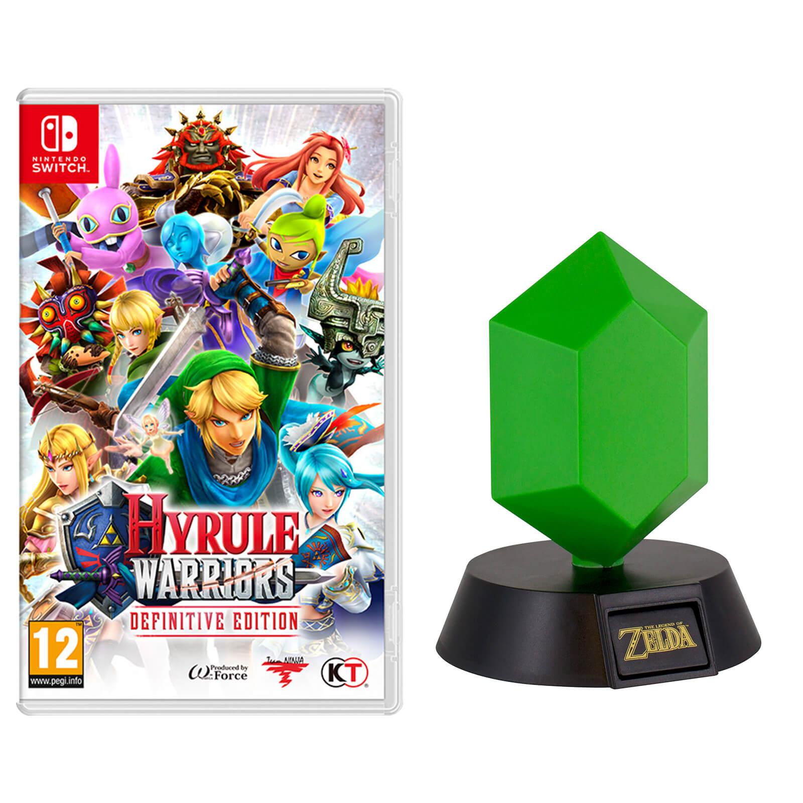Hyrule Warriors Definitive Edition Green Rupee Light Nintendo Official Uk Store