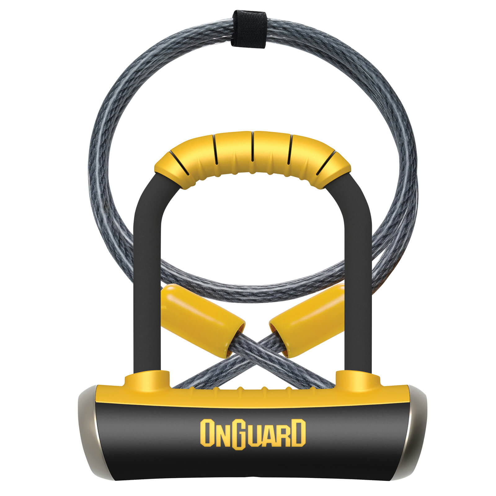 OnGuard Pitbull Mini Standard Shackle U-Lock/Cable - 90mm x 140mm x 14mm