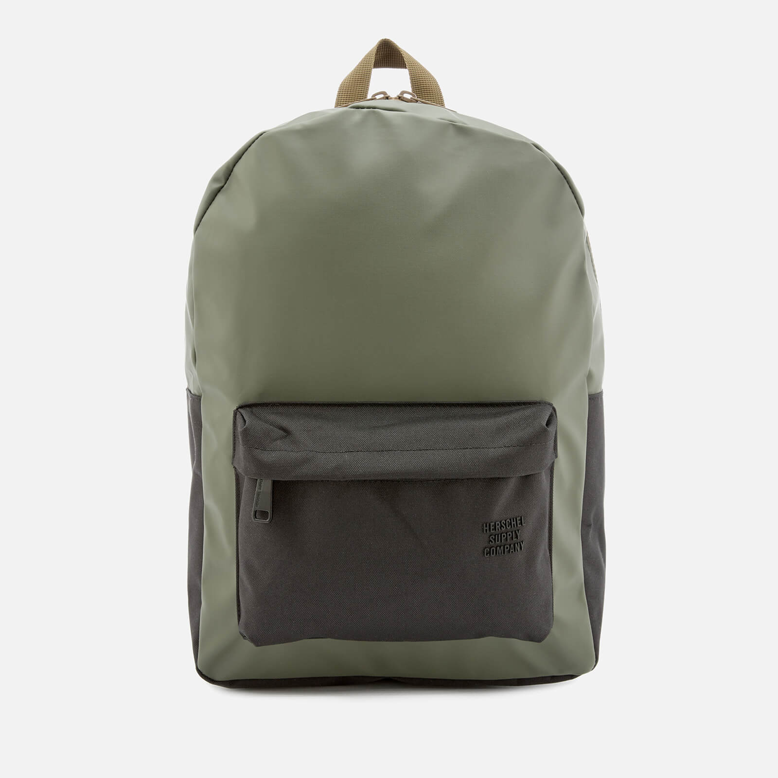 c3bca845ac7 Herschel Supply Co. Men's Winlaw Backpack - Beetle/Black/Gothic Olive -  Free UK Delivery over £50