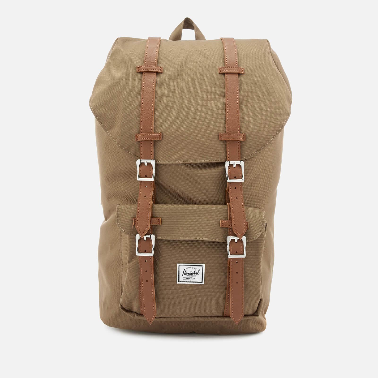 9866e095f63 Herschel Supply Co. Men s Little America Backpack - Cub Tan - Free ...