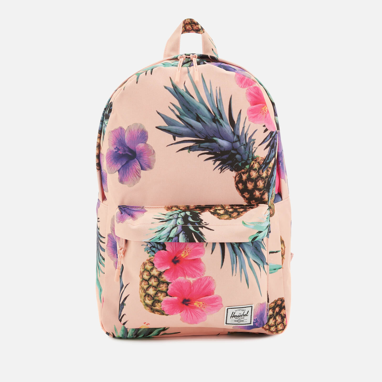fb6db61bcf Herschel Supply Co. Women s Classic Mid-Volume Backpack - Peach Pineapple -  Free UK Delivery over £50