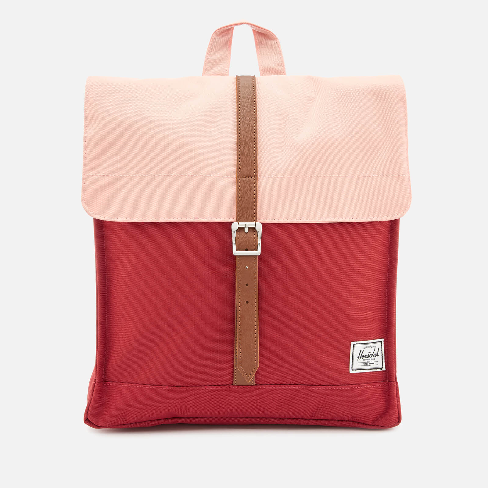 Herschel Supply Co Women S City Mid Volume Backpack Brick Red Peach