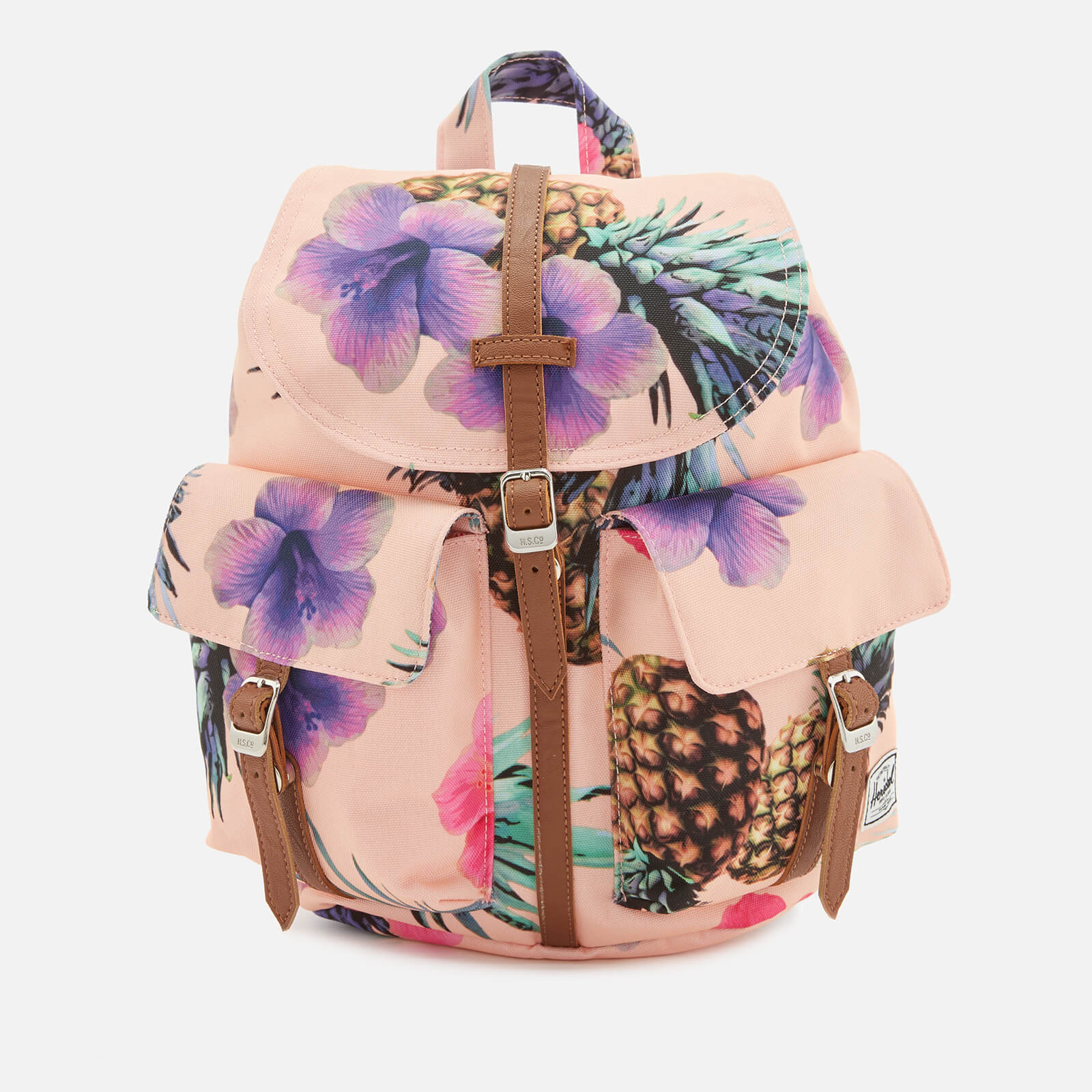 70d1f10b3b8 Herschel Supply Co. Men s Dawson Extra Small Backpack - Peach Pineapple Tan  - Free UK Delivery over £50
