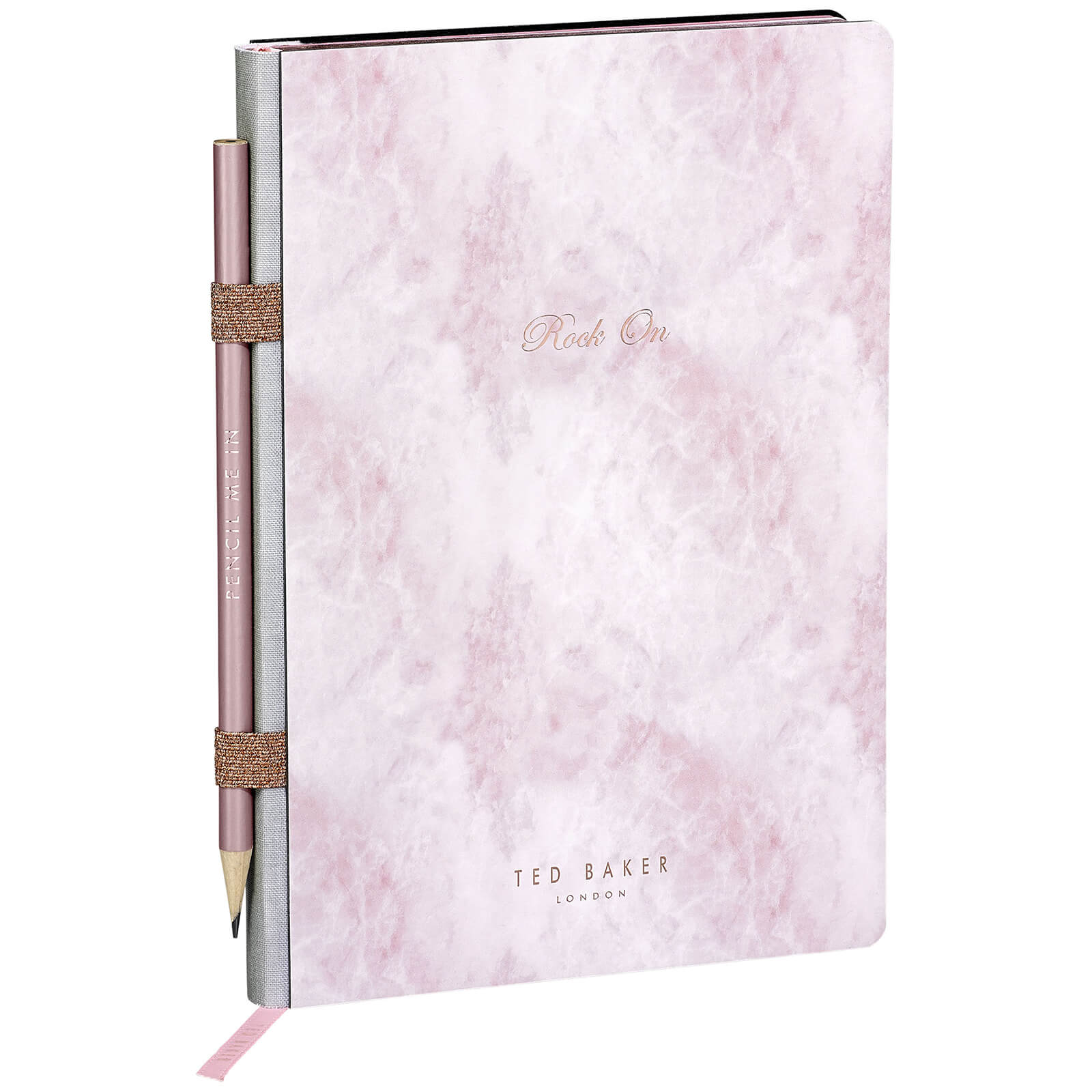 Ted Baker A5 Rose Quartz Notebook