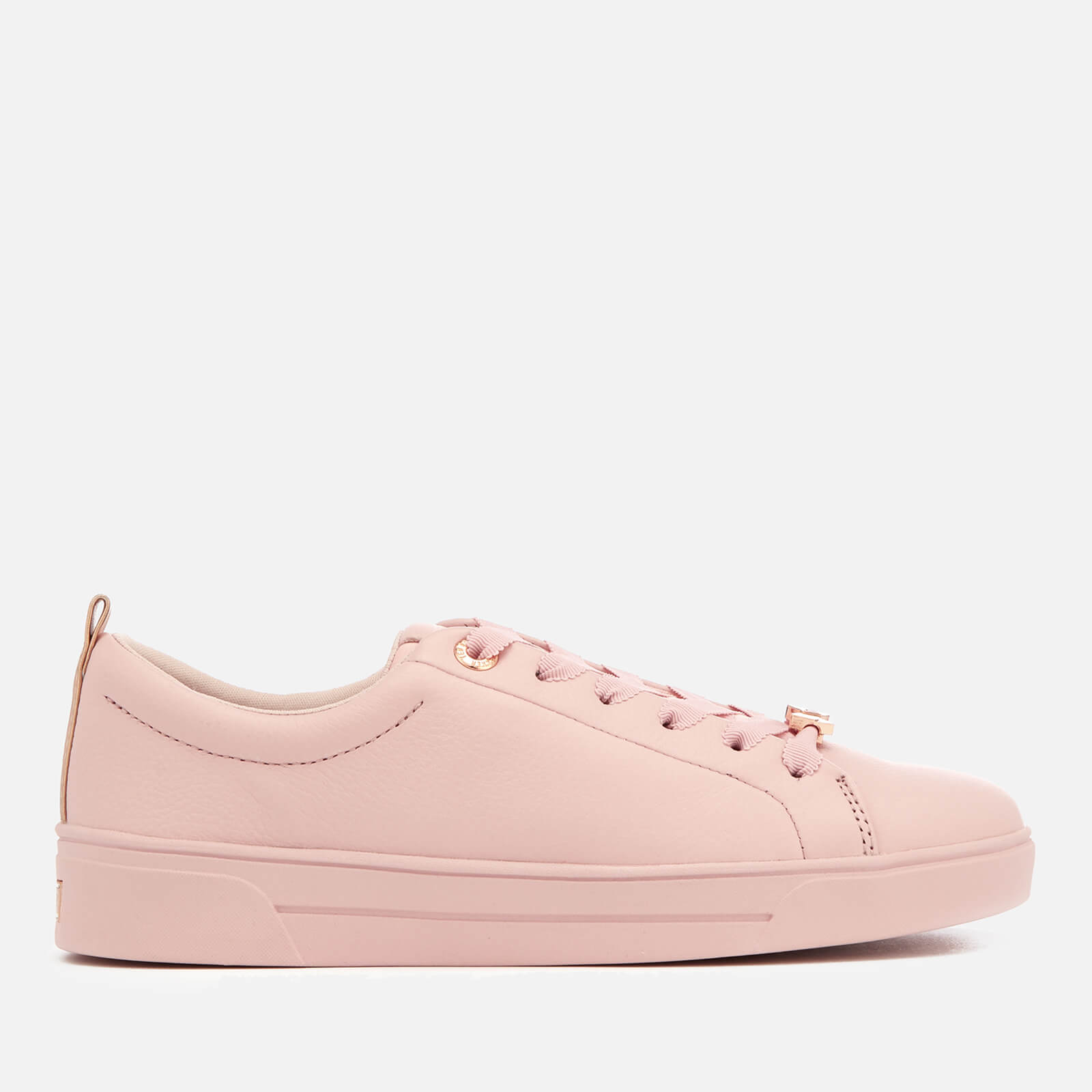 d06be0134 Ted Baker Women s Gielli Leather Cupsole Trainers - Pink Womens ...