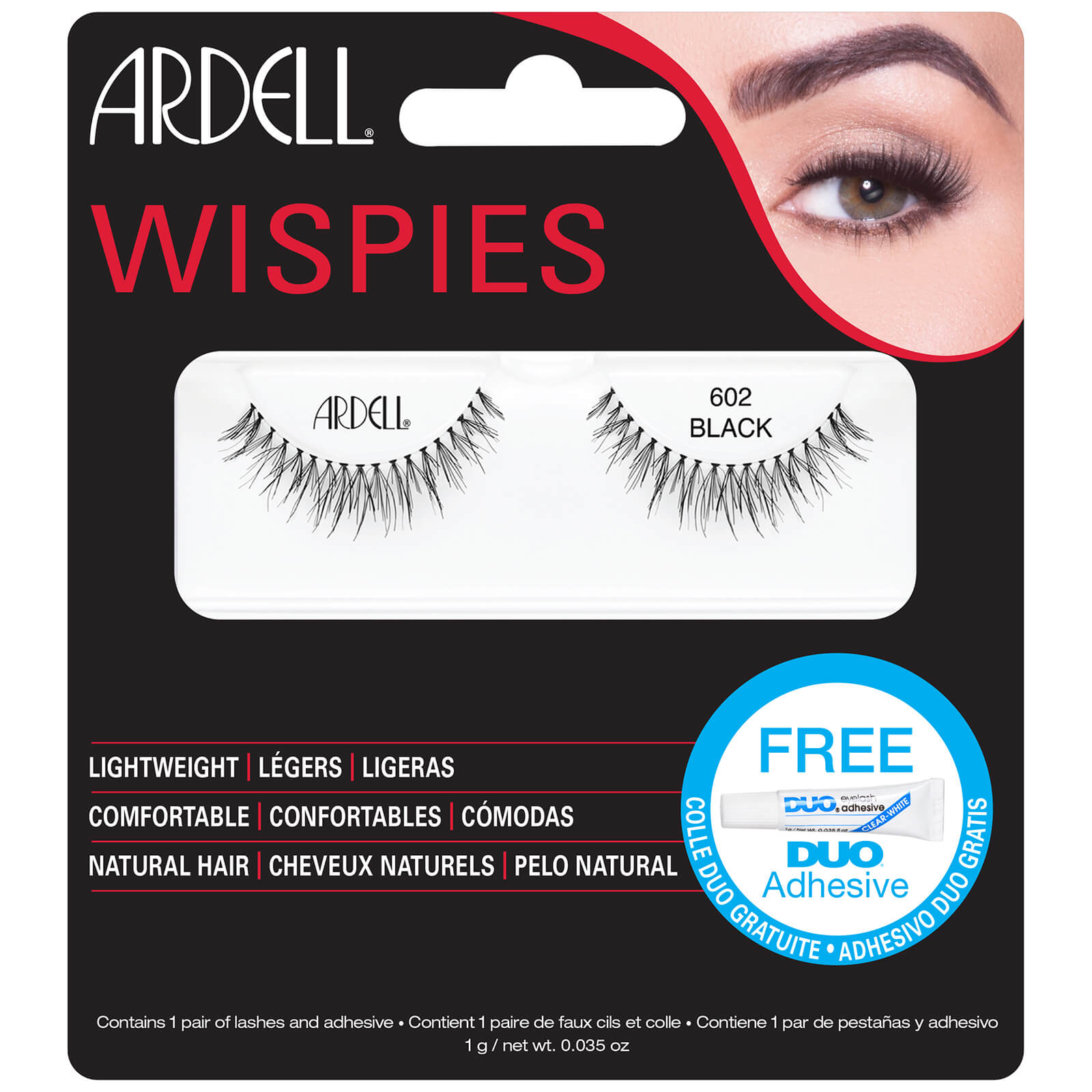 4b9240aae36 Ardell Wispies Cluster False Eyelashes 602 | Free Shipping | Lookfantastic