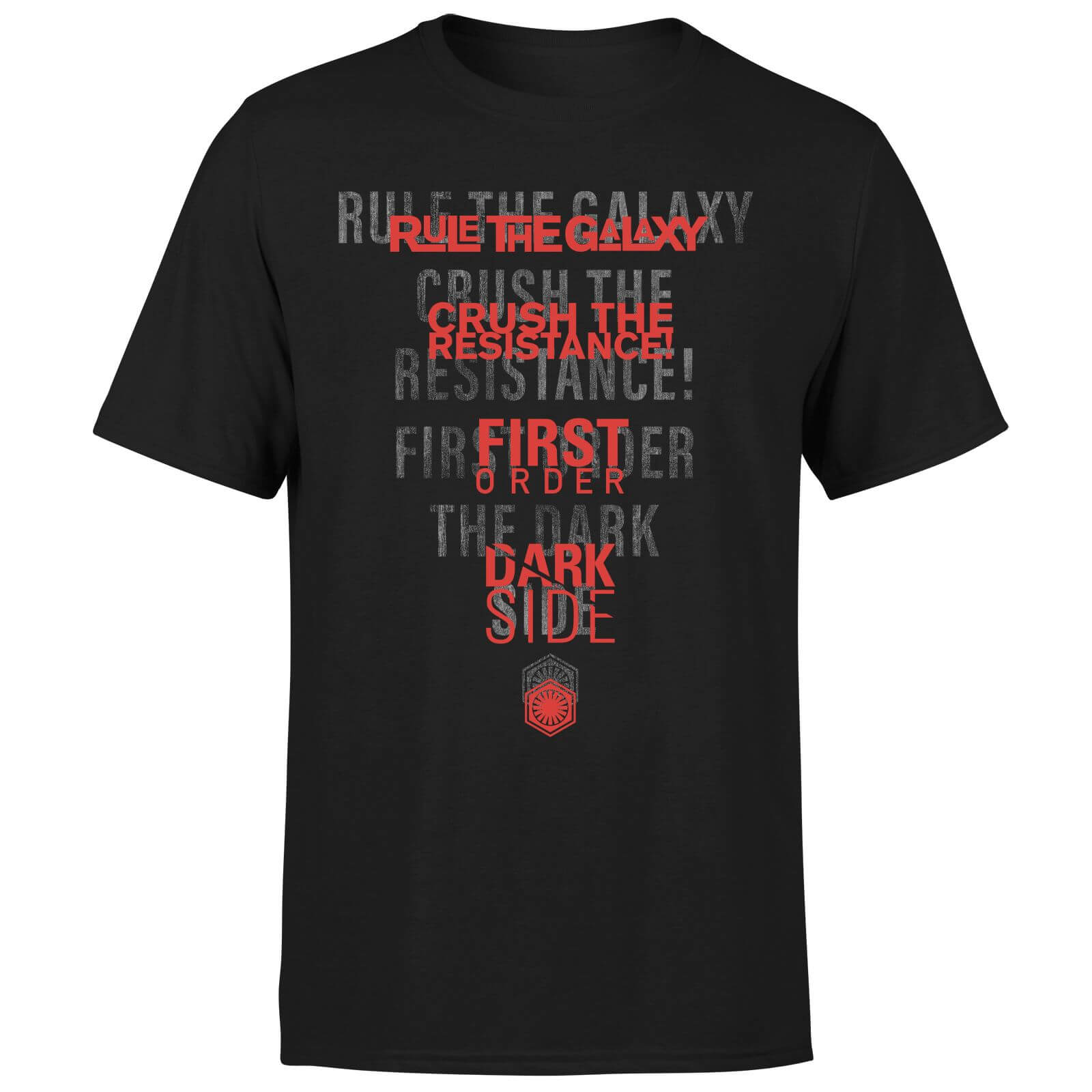 Star Wars Dark Side Echo Black T-Shirt - Black