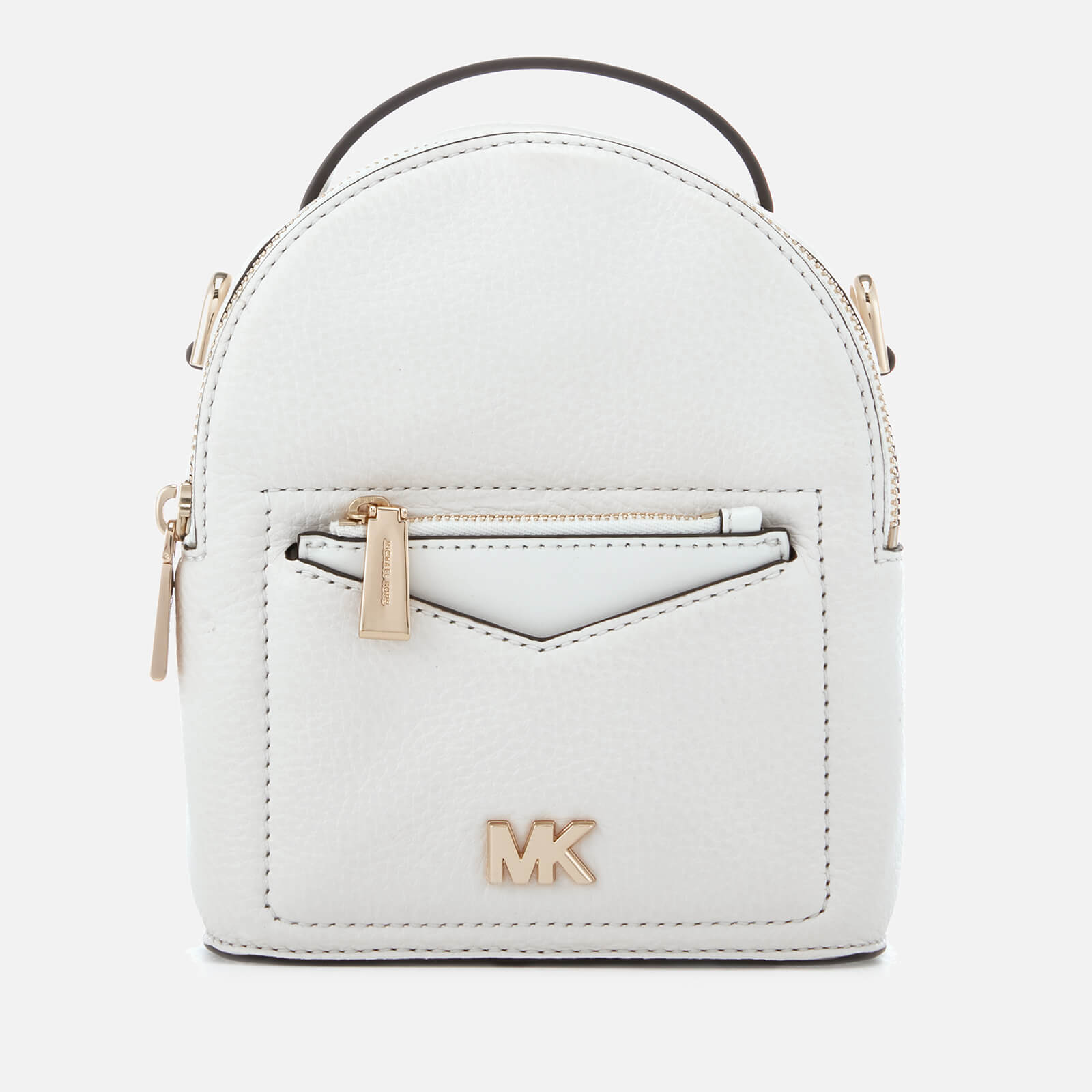 bd2c0f5ec58f MICHAEL MICHAEL KORS Women's Jessa Extra Small Convertible Backpack - Optic  White - Free UK Delivery over £50