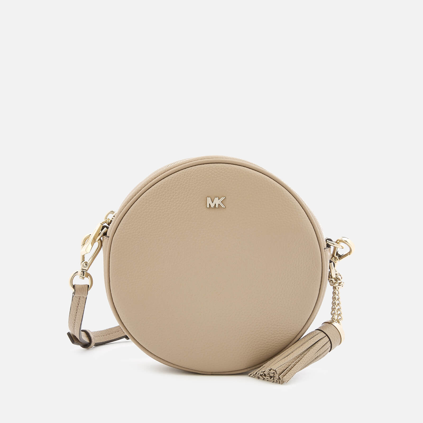 03529e621acd MICHAEL MICHAEL KORS Women's Small Grain Pebble Leather Canteen Bag -  Truffle - Free UK Delivery over £50