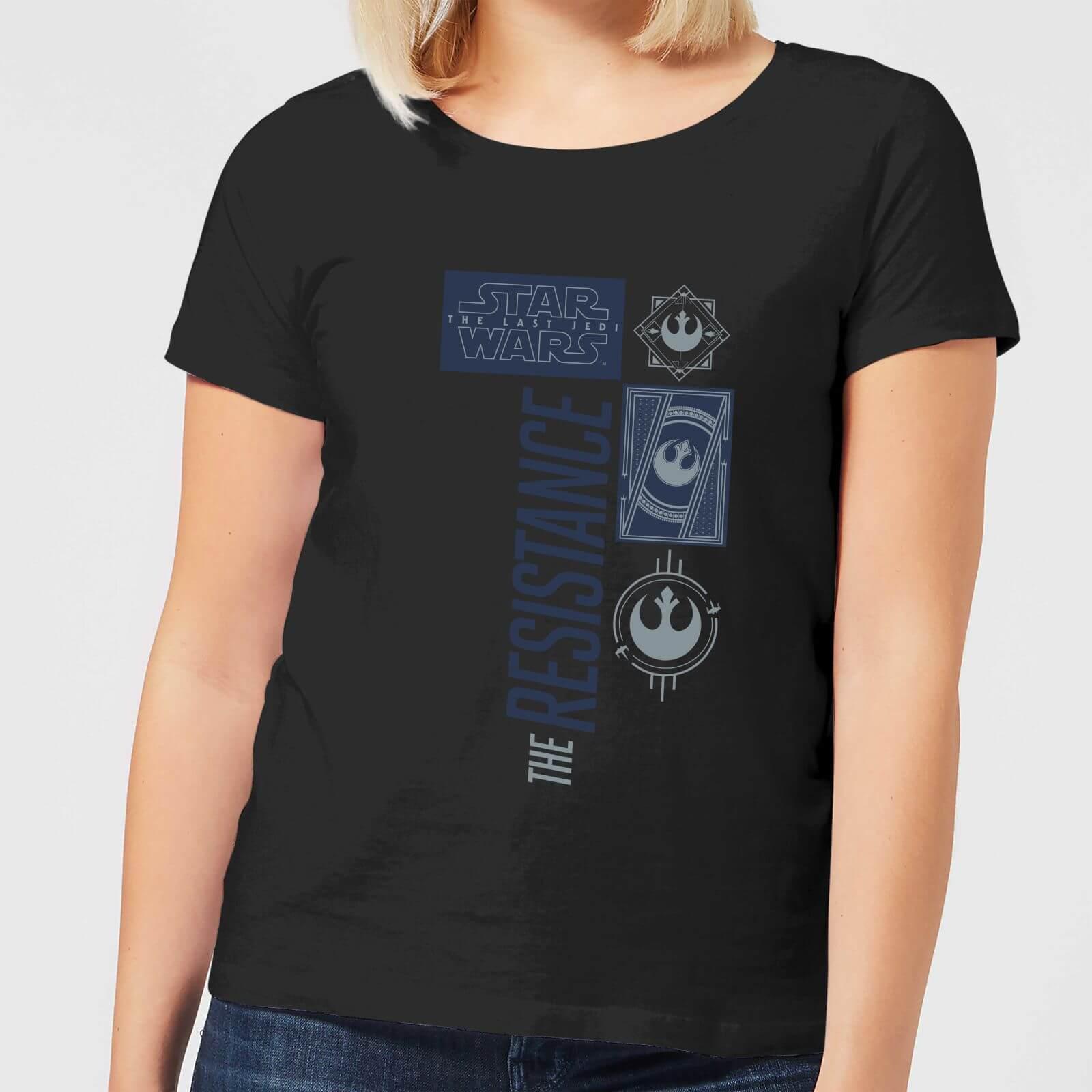 663ae997aead Star Wars The Resistance Black Women s T-Shirt - Black. Description