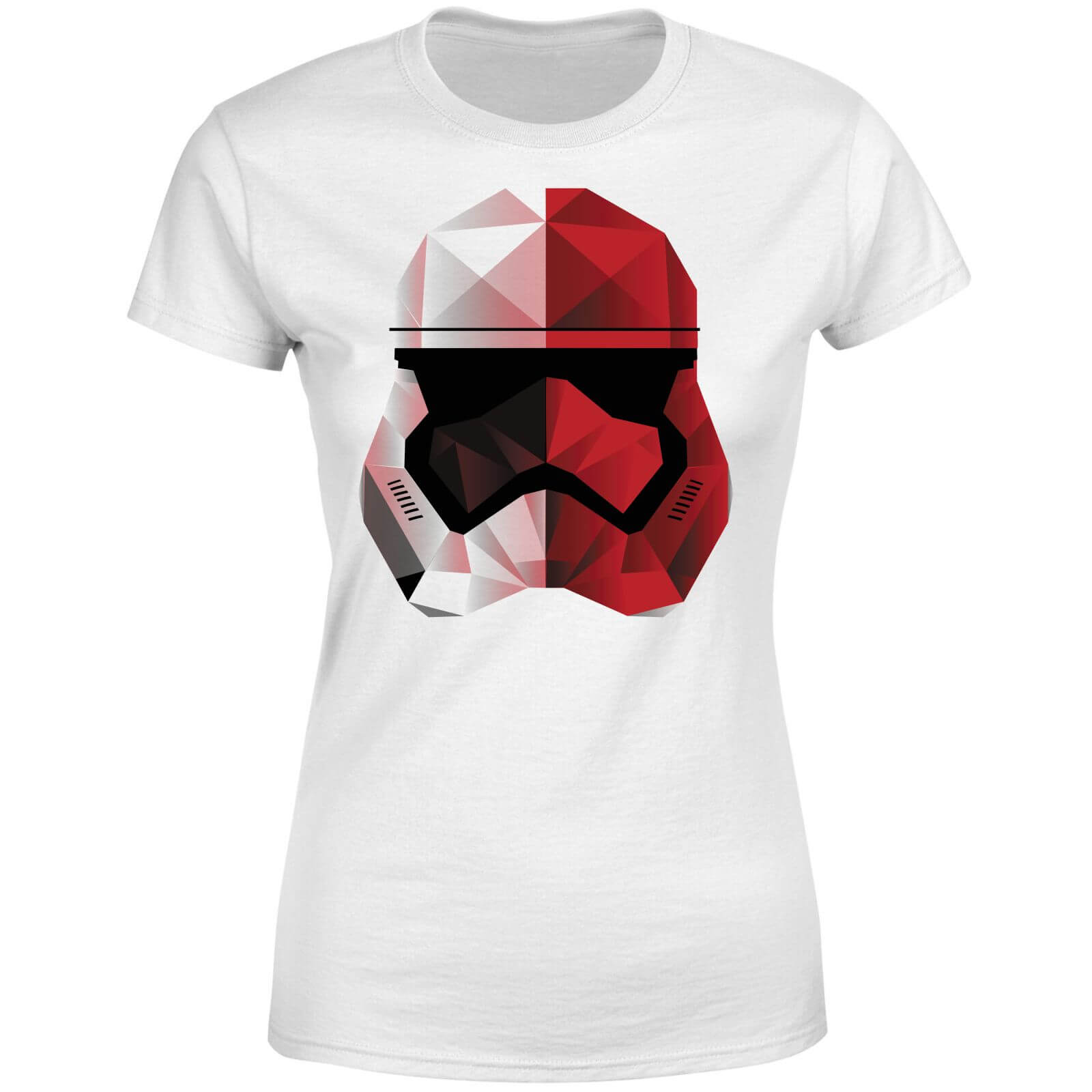 Star Wars Cubist Trooper Helmet White Women