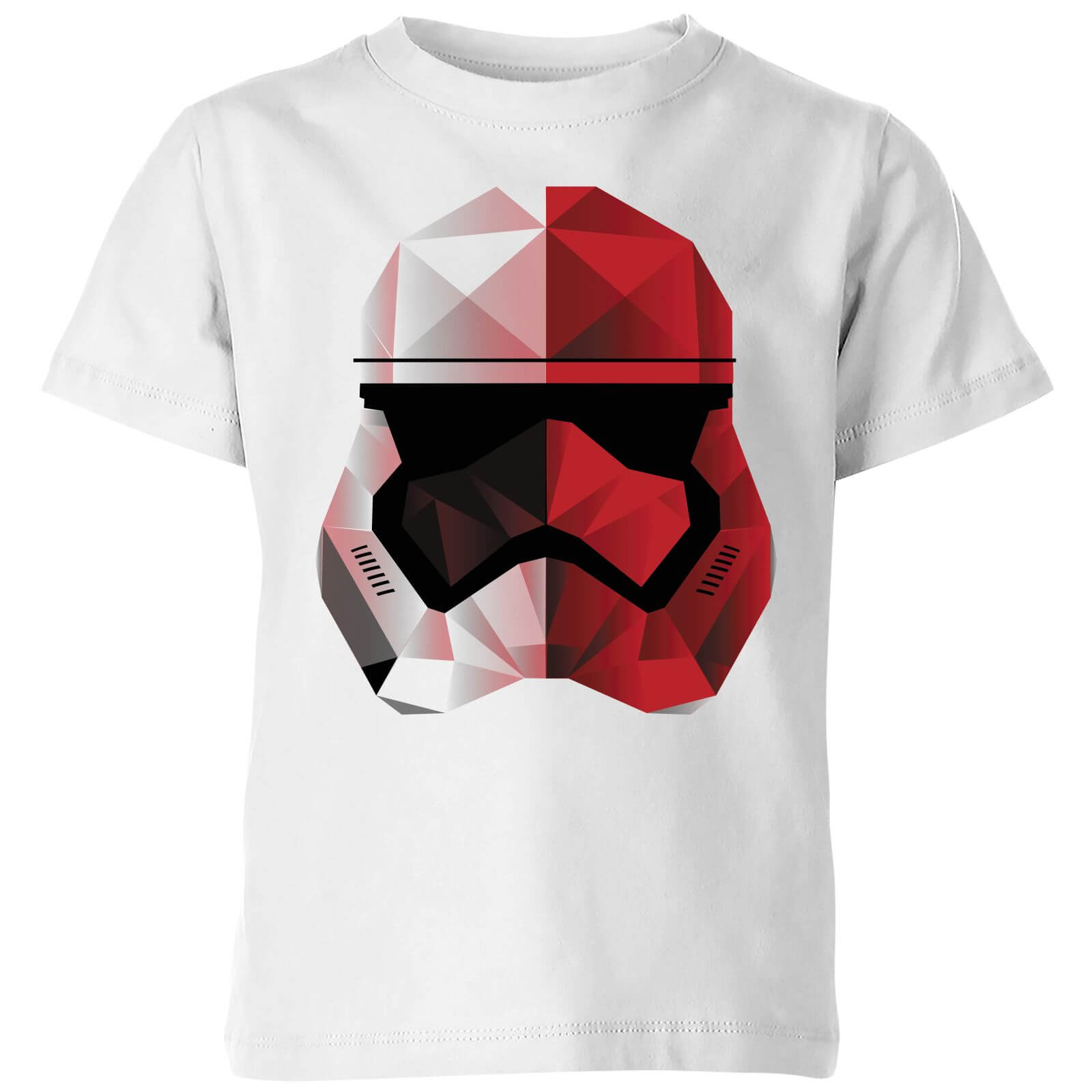 Star Wars Cubist Trooper Helmet White Kids