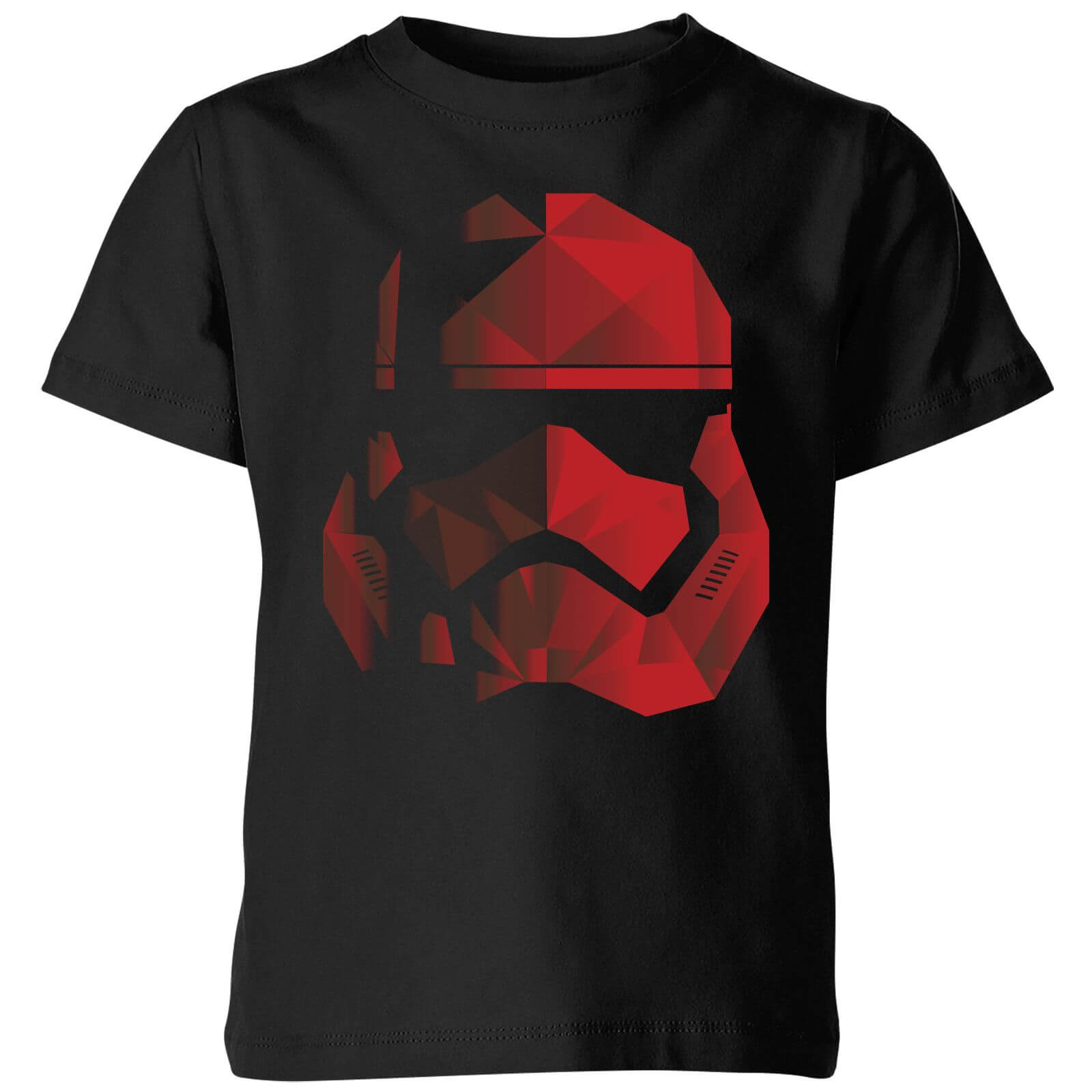 Star Wars Jedi Cubist Trooper Helmet Black Kids