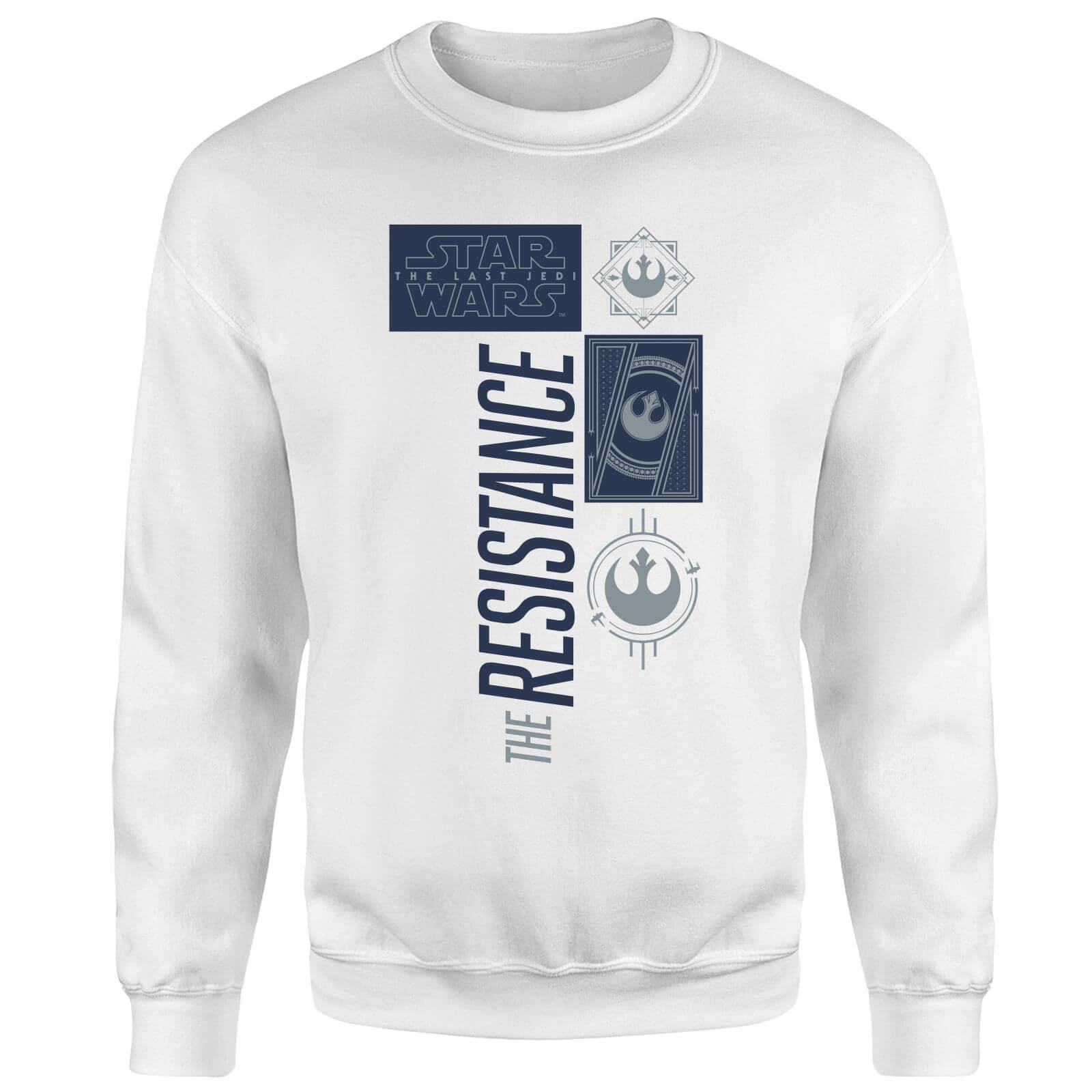 Star Wars The Resistance White Sweatshirt - White