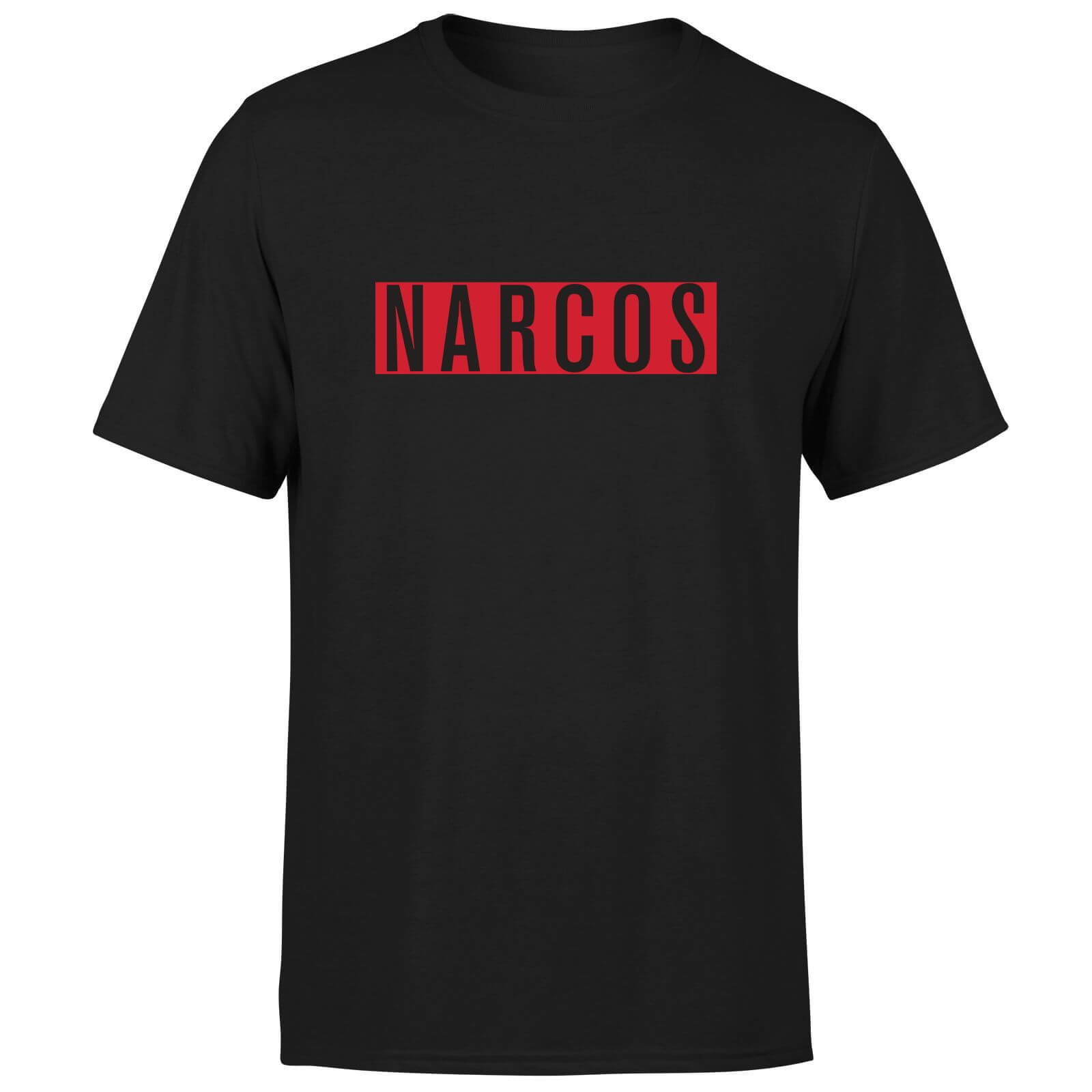 Narcos Logo T-Shirt - Black