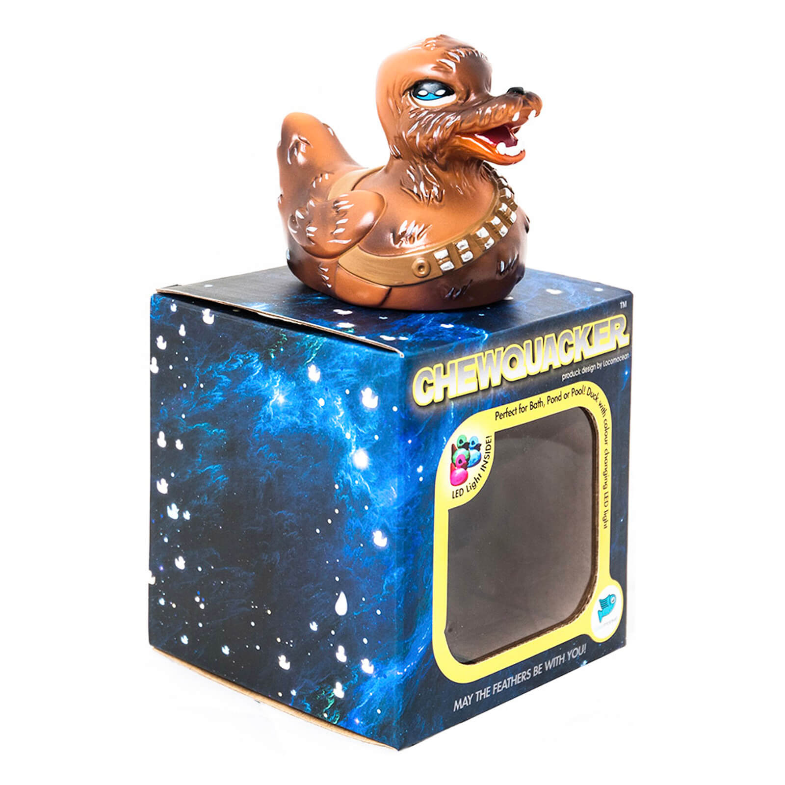 Chew Quacker - Light Up Bath Duck