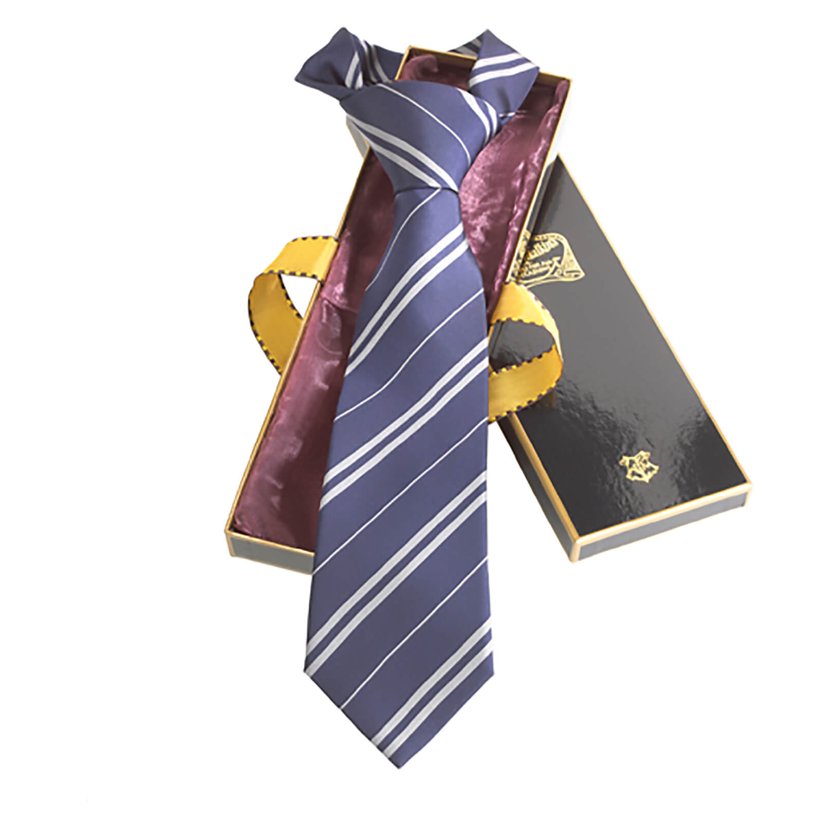 Harry Potter 100% Silk Ravenclaw Necktie in Madam Malkin
