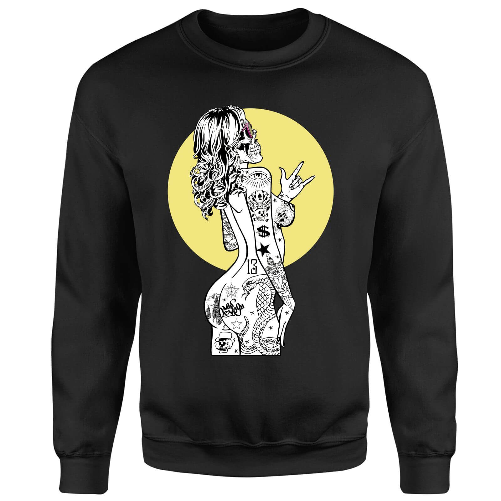 Rum Knuckles Lady Rad Sweatshirt - Black