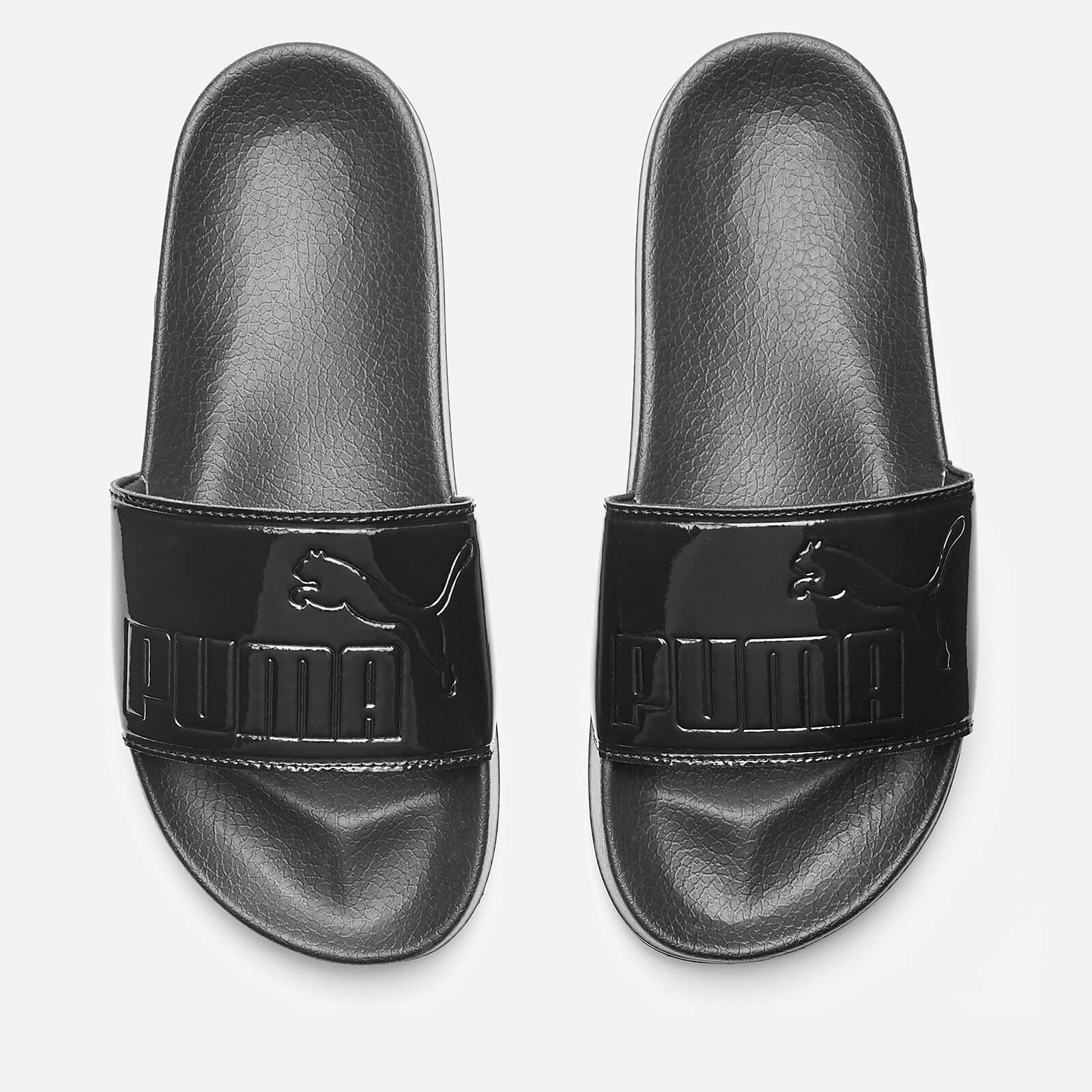 f48e7ceddfe3 Puma Women s Leadcat Patent Slide Sandals - Puma Black Womens Accessories