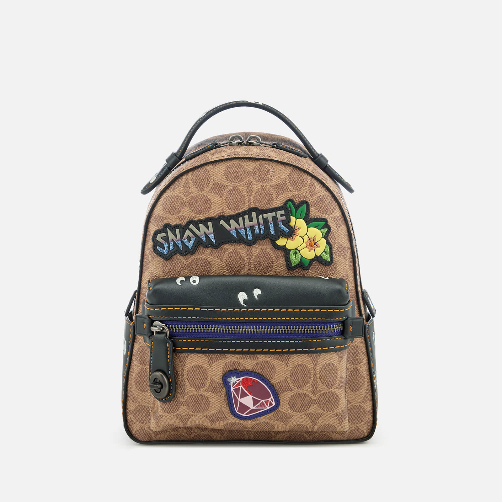 70c43569fbb4 Coach 1941 Women s Disney X Coach Coated Canvas Snow White Campus Backpack  23 - Tan Black Multi - Free UK Delivery over £50