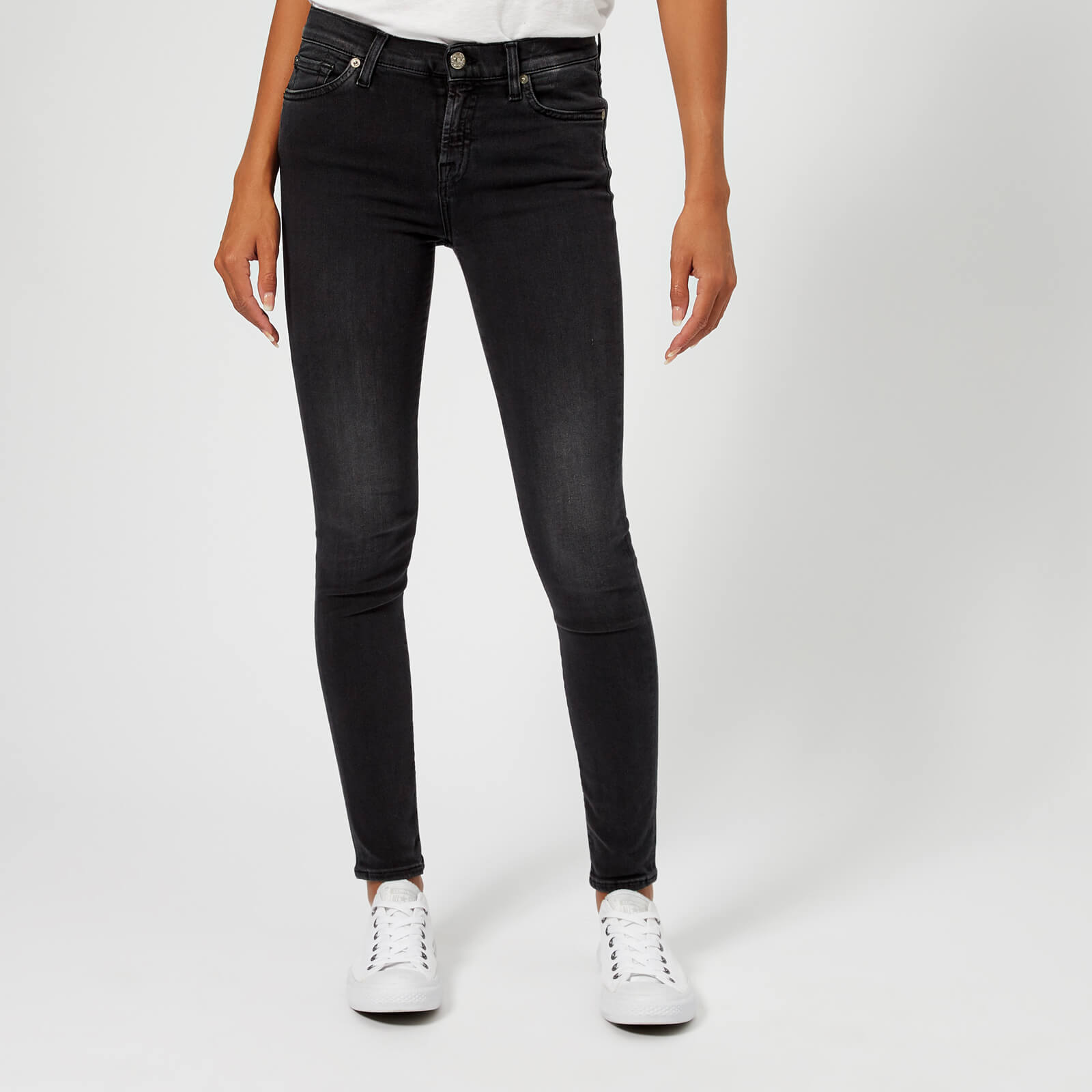 c88fde825c355f 7 For All Mankind Women's Skinny Slim Illusion Jeans - Rebel Clothing |  TheHut.com