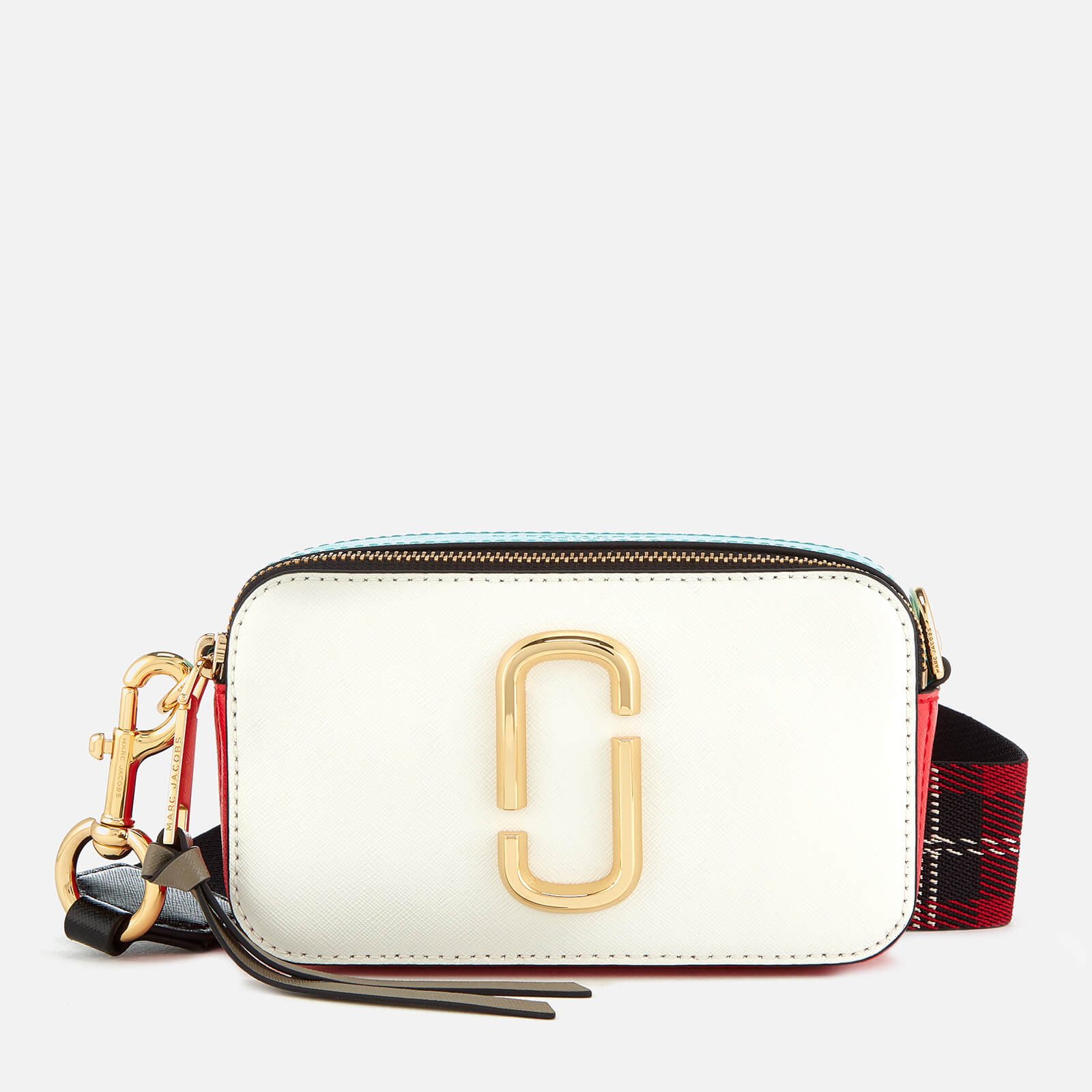 Marc Jacobs Women's Snapshot Cross Body Bag - Porcelain