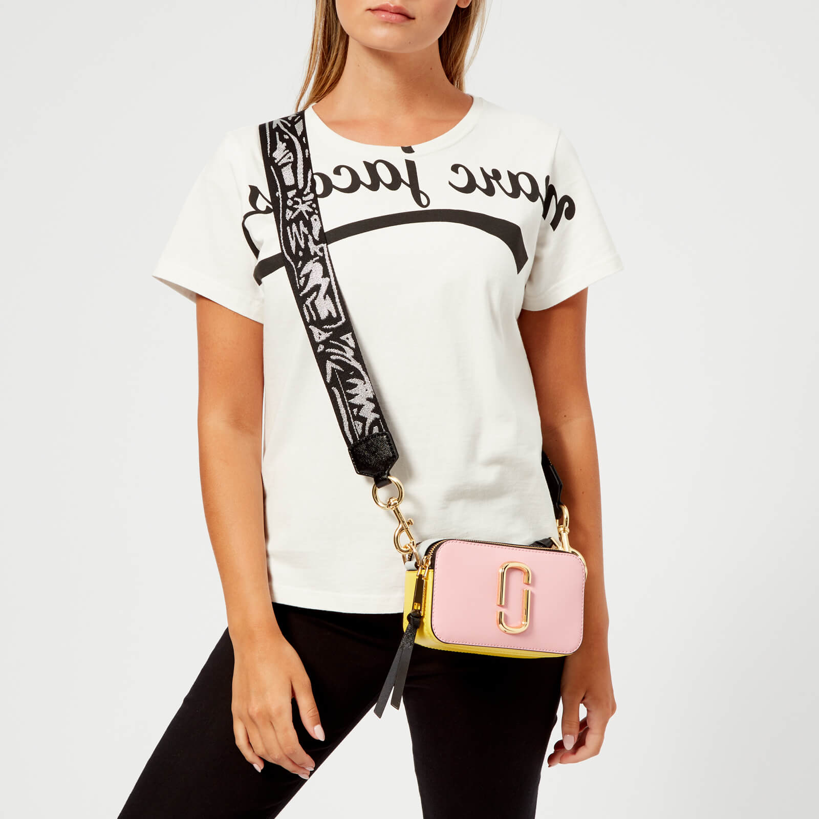 Marc Jacobs Women's Snapshot Cross Body Bag - Baby Pink