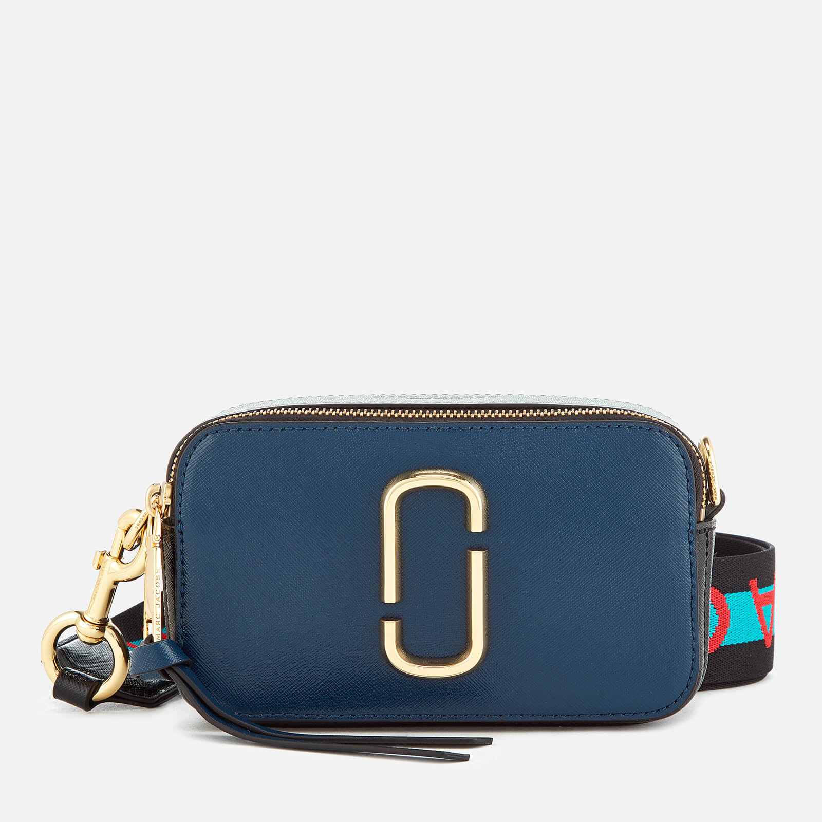 992878806038 Marc Jacobs Women s Snapshot Cross Body Bag - Blue Sea Multi - Free ...
