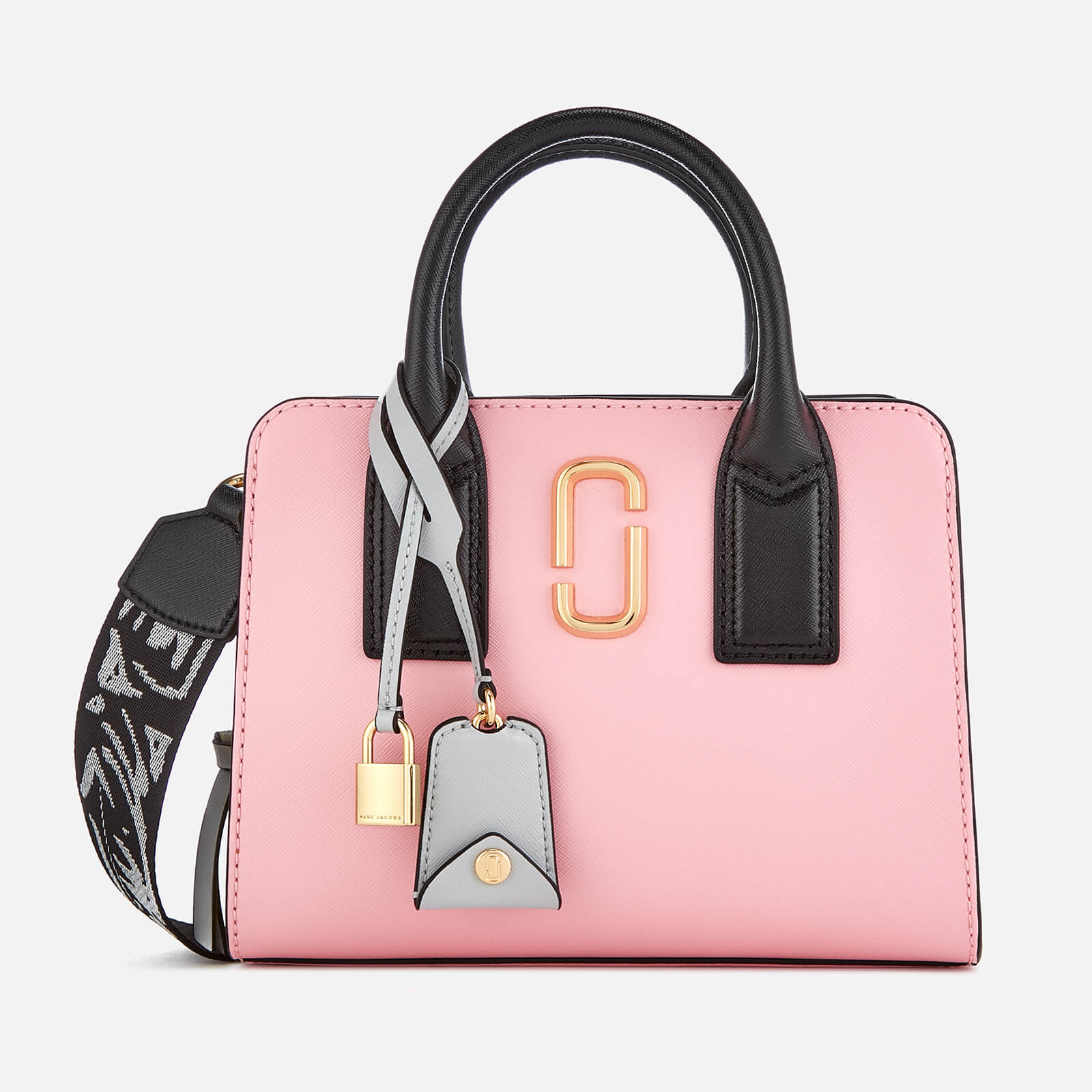 7a40a4ca861b Marc Jacobs Women s Little Big Shot Tote Bag - Baby Pink - Free UK Delivery  over £50