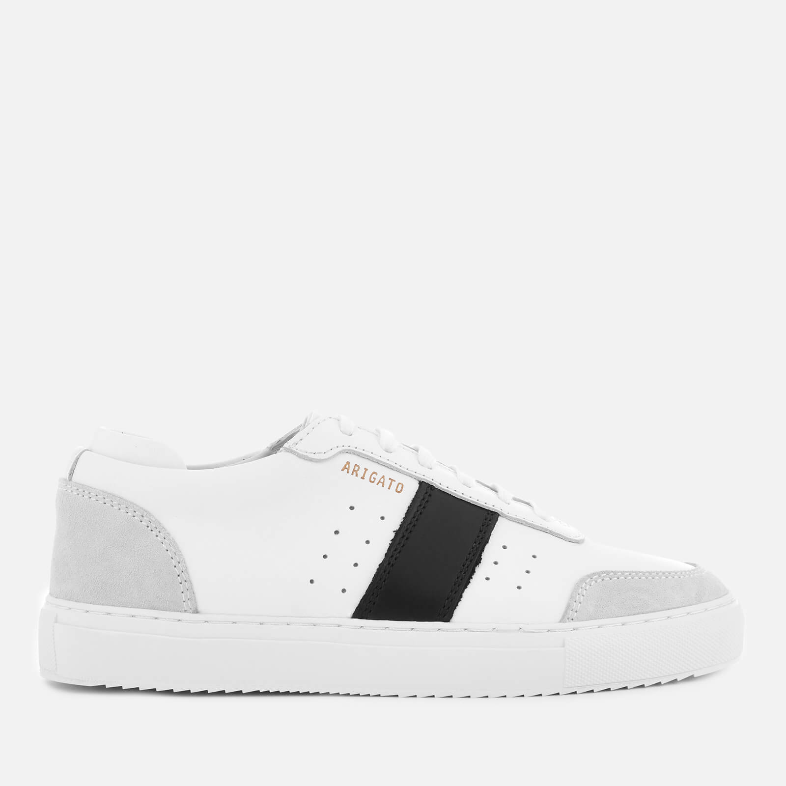 axel arigato black trainers