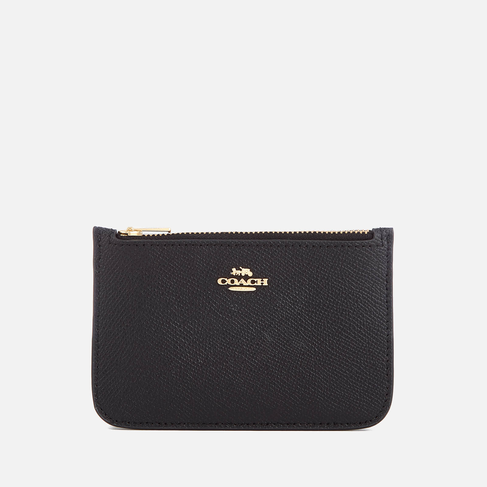 043223055c Coach Women's Zip Card Case - Black