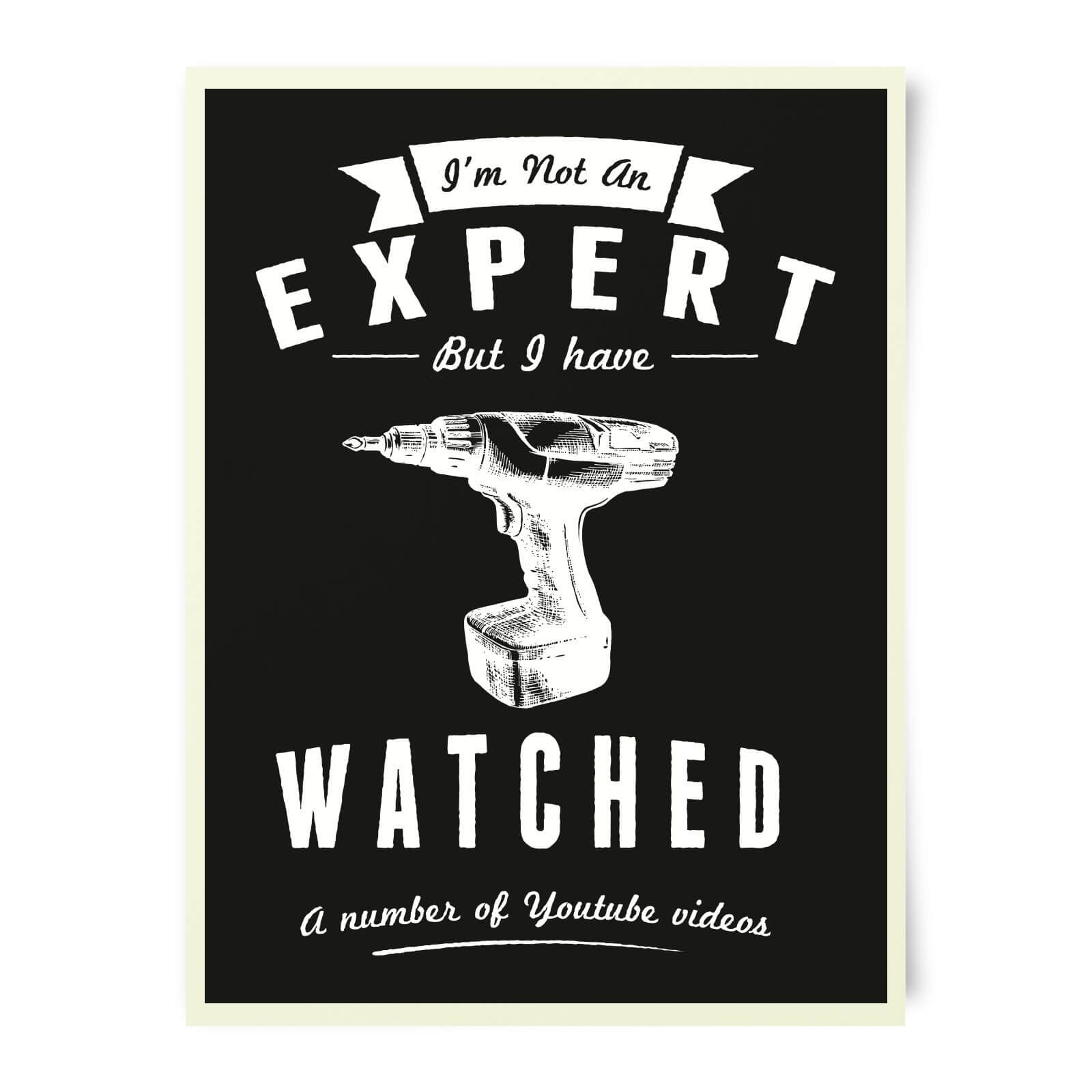 Im Not An Expert Art Print