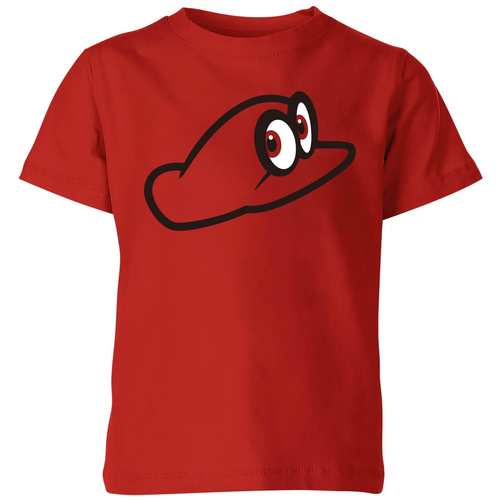 Nintendo Super Mario Odyssey Cappy Kid's T-Shirt - Red