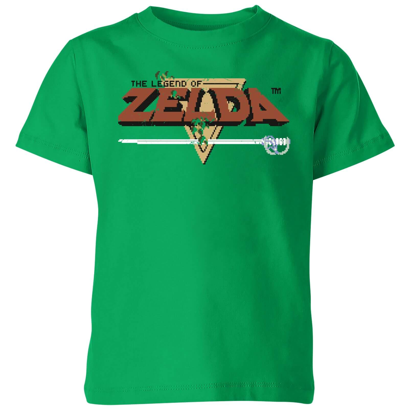 Nintendo The Legend Of Zelda Retro Logo Kids