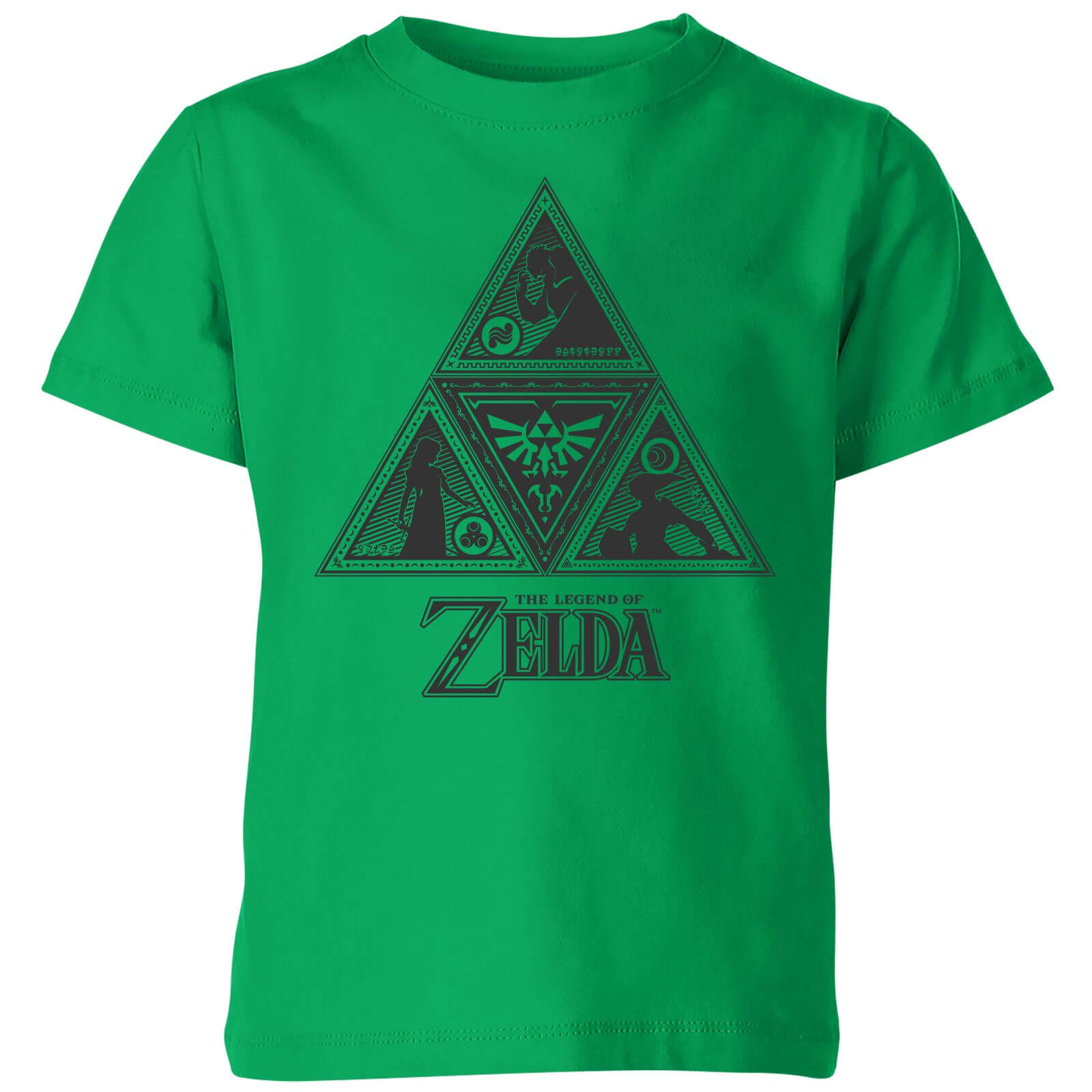 Nintendo The Legend Of Zelda Triforce Kids