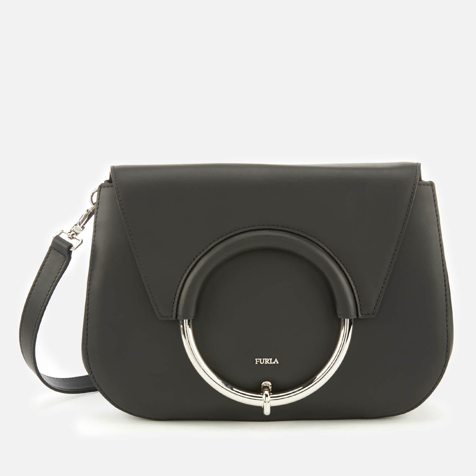 f80187e3 Furla Women's Margherita Small Cross Body Bag - Black