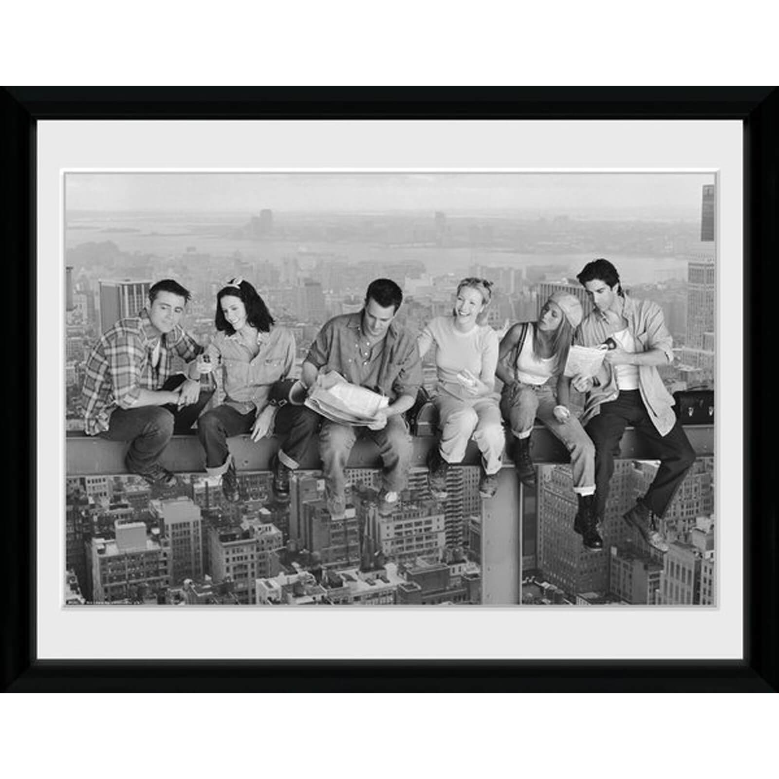 Friends on Girder 12 x 16 Inches Framed Photograph