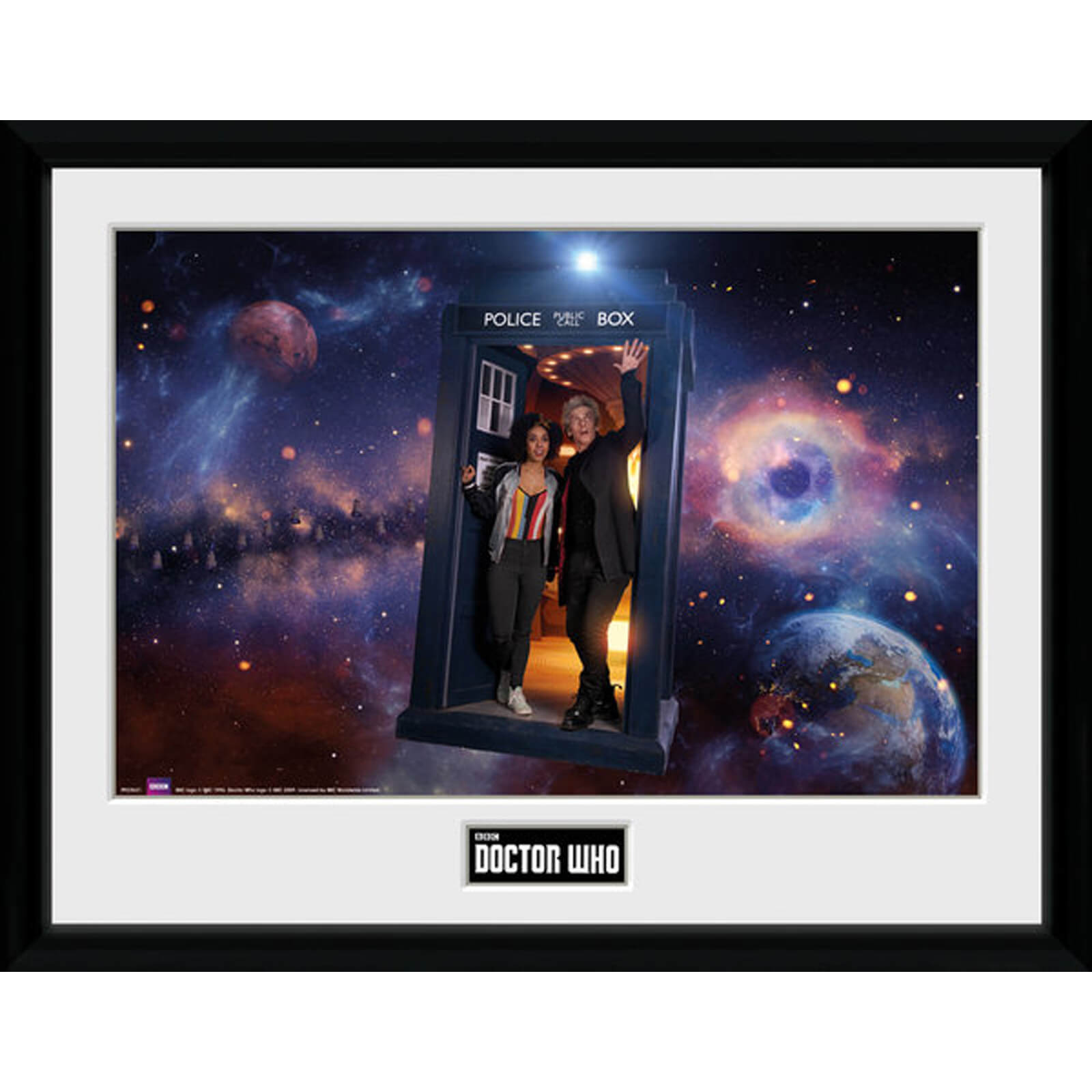 Doctor Who - Season 10: Episode 1 Iconic 12 x 16 Inches Framed Photograph